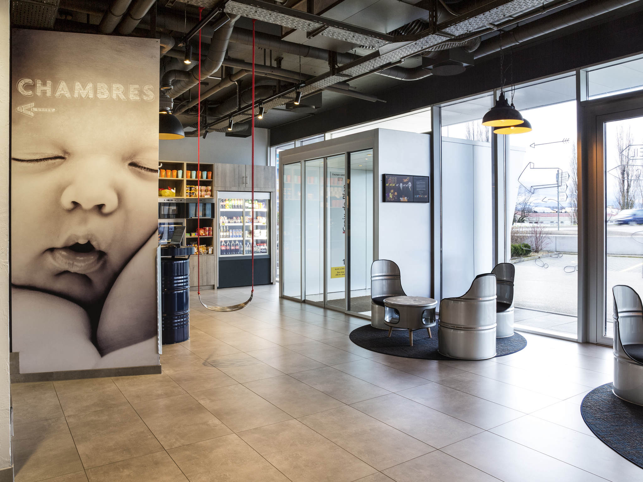Hotell – ibis budget Lausanne Bussigny