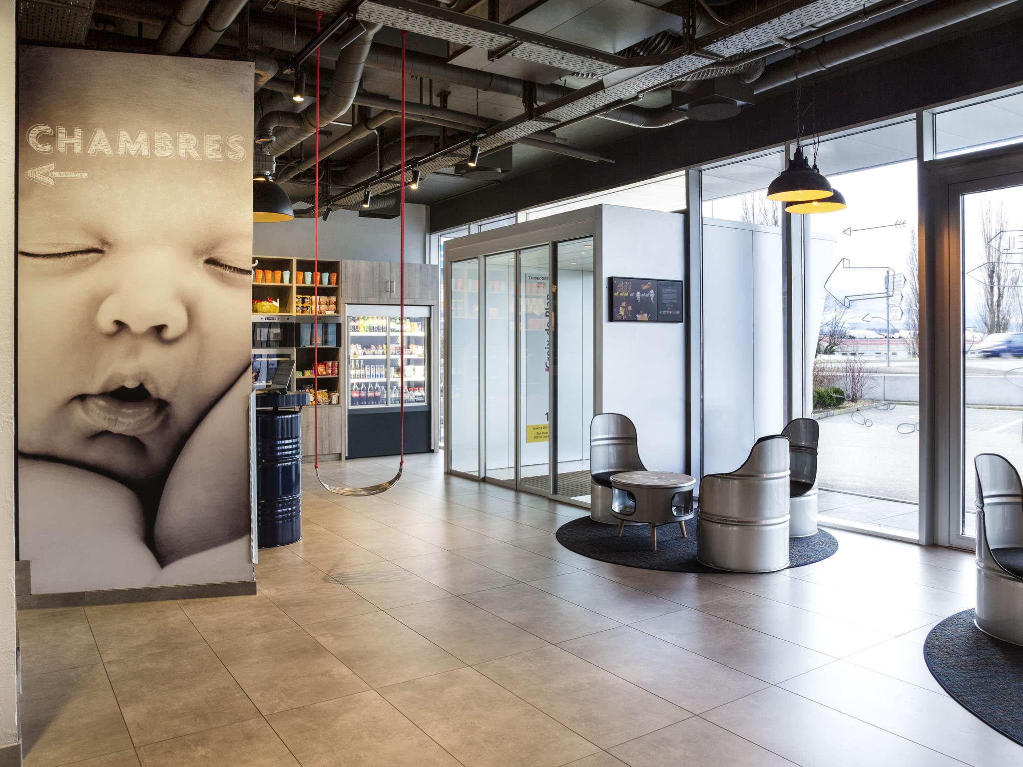 Otel – ibis budget Lausanne Bussigny