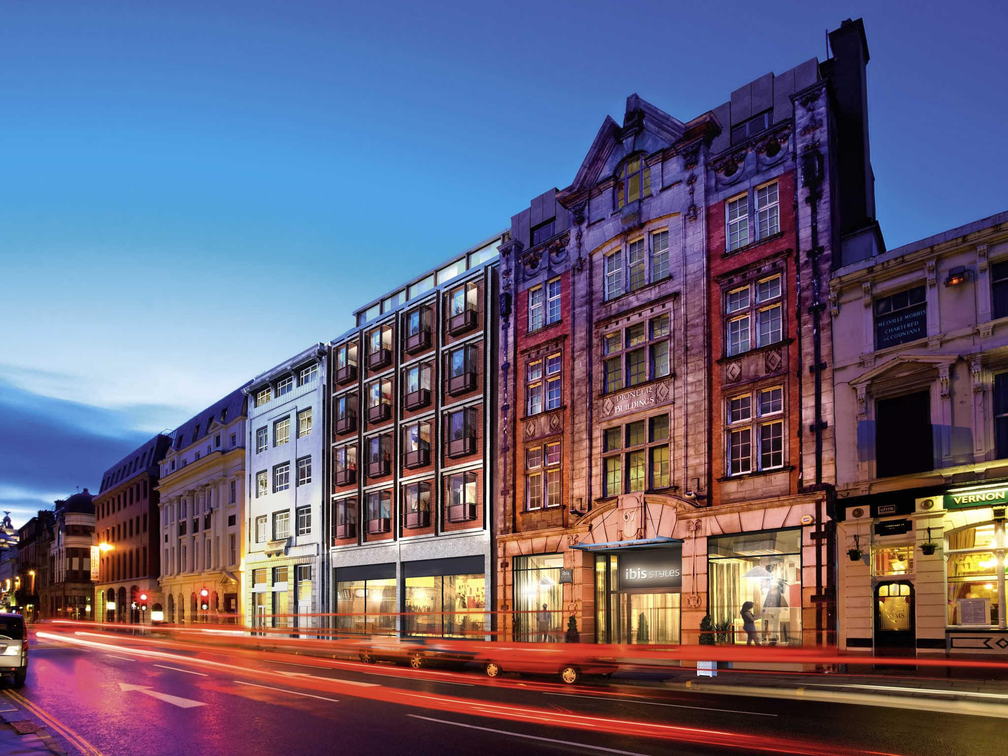 Отель — ibis Styles Ливерпуль Центр Дэйл-стрит