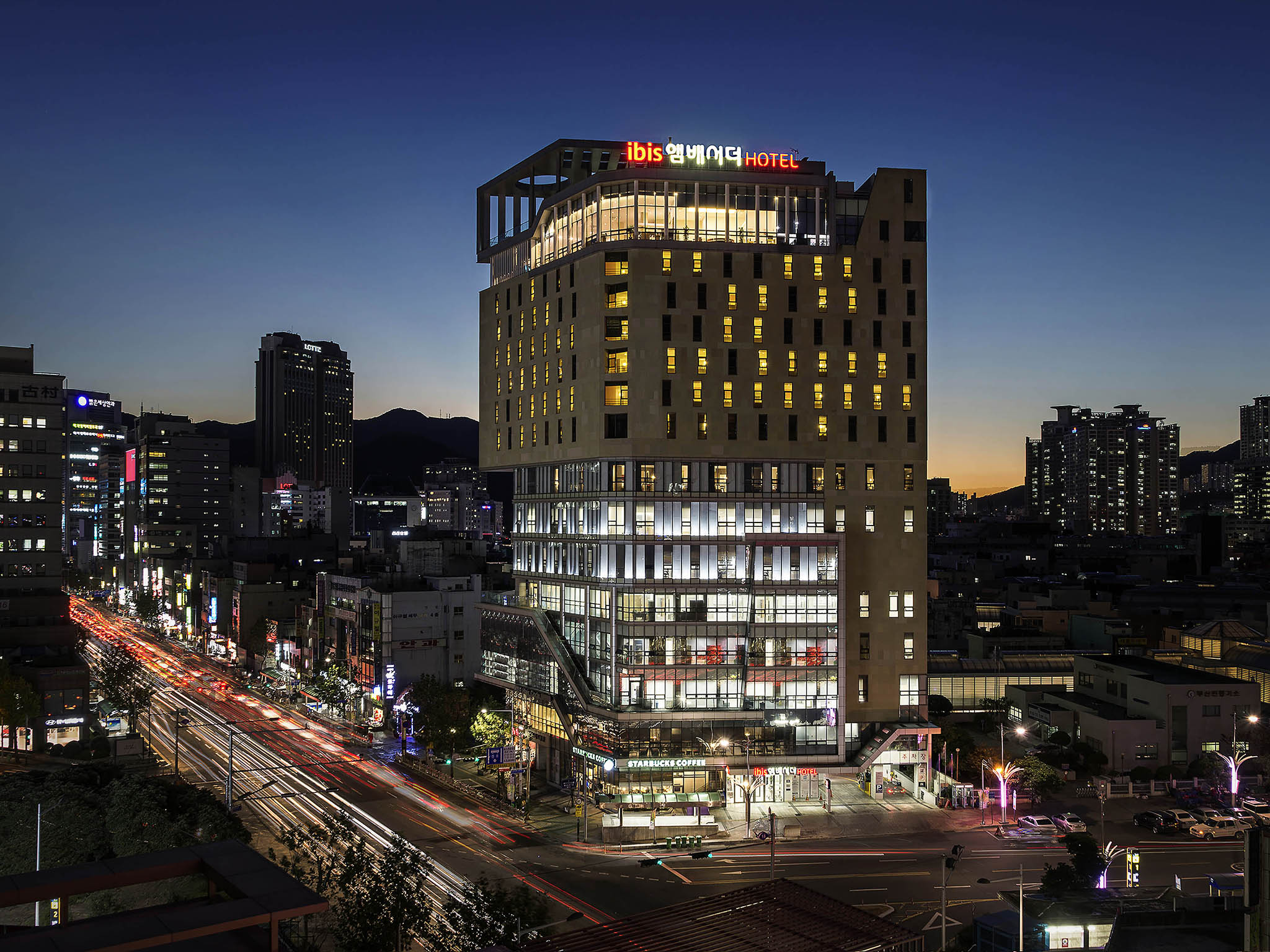 Otel – ibis Ambassador Busan City Centre