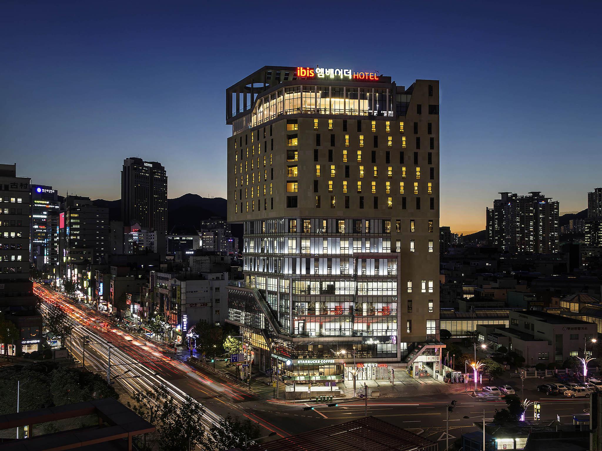 Отель — ibis Aмбассадор Бусан Сити Центр