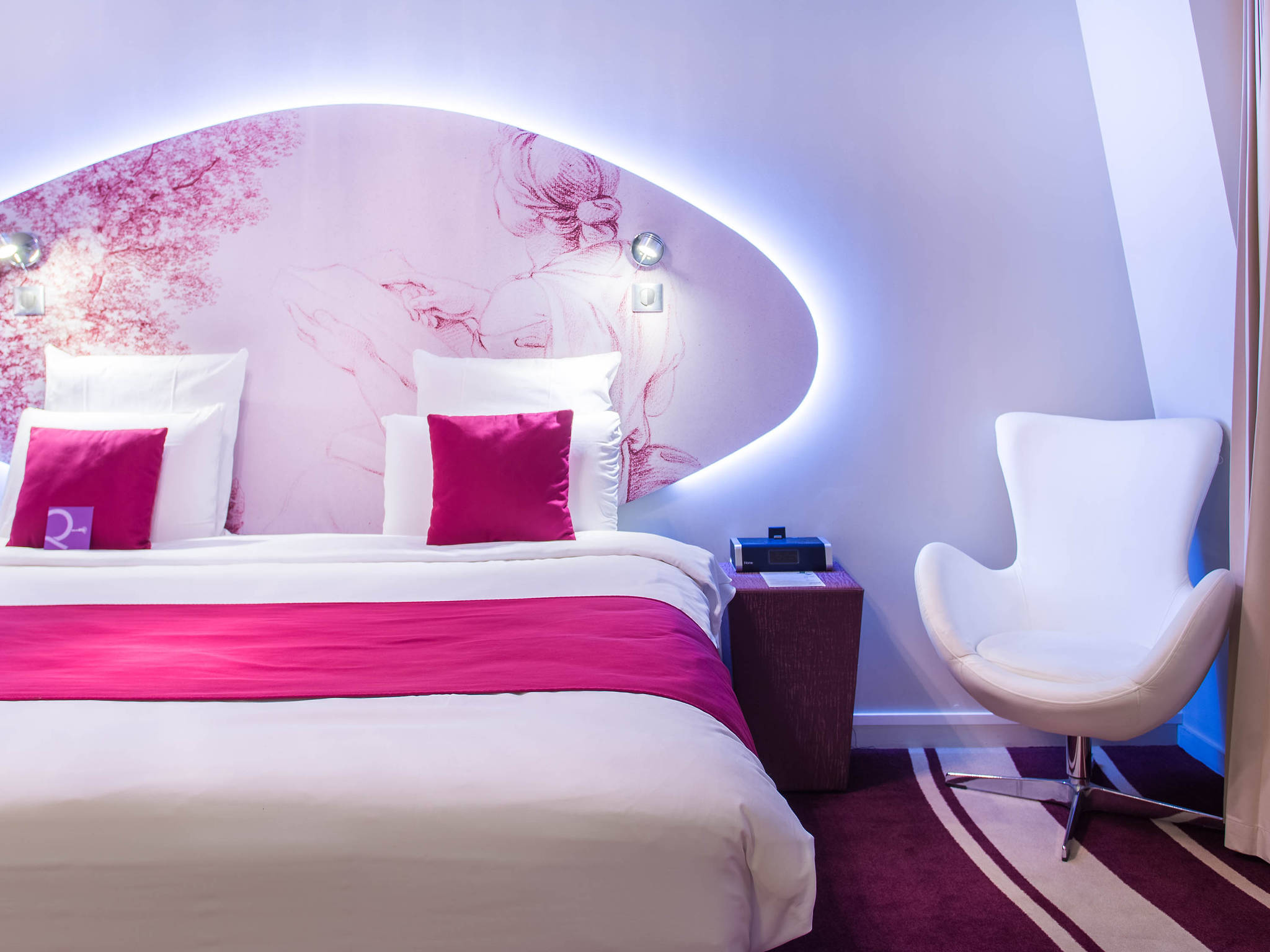 โรงแรม – โรงแรมเมอร์เคียวปารีส บาสติลล์ มาเร่ส์