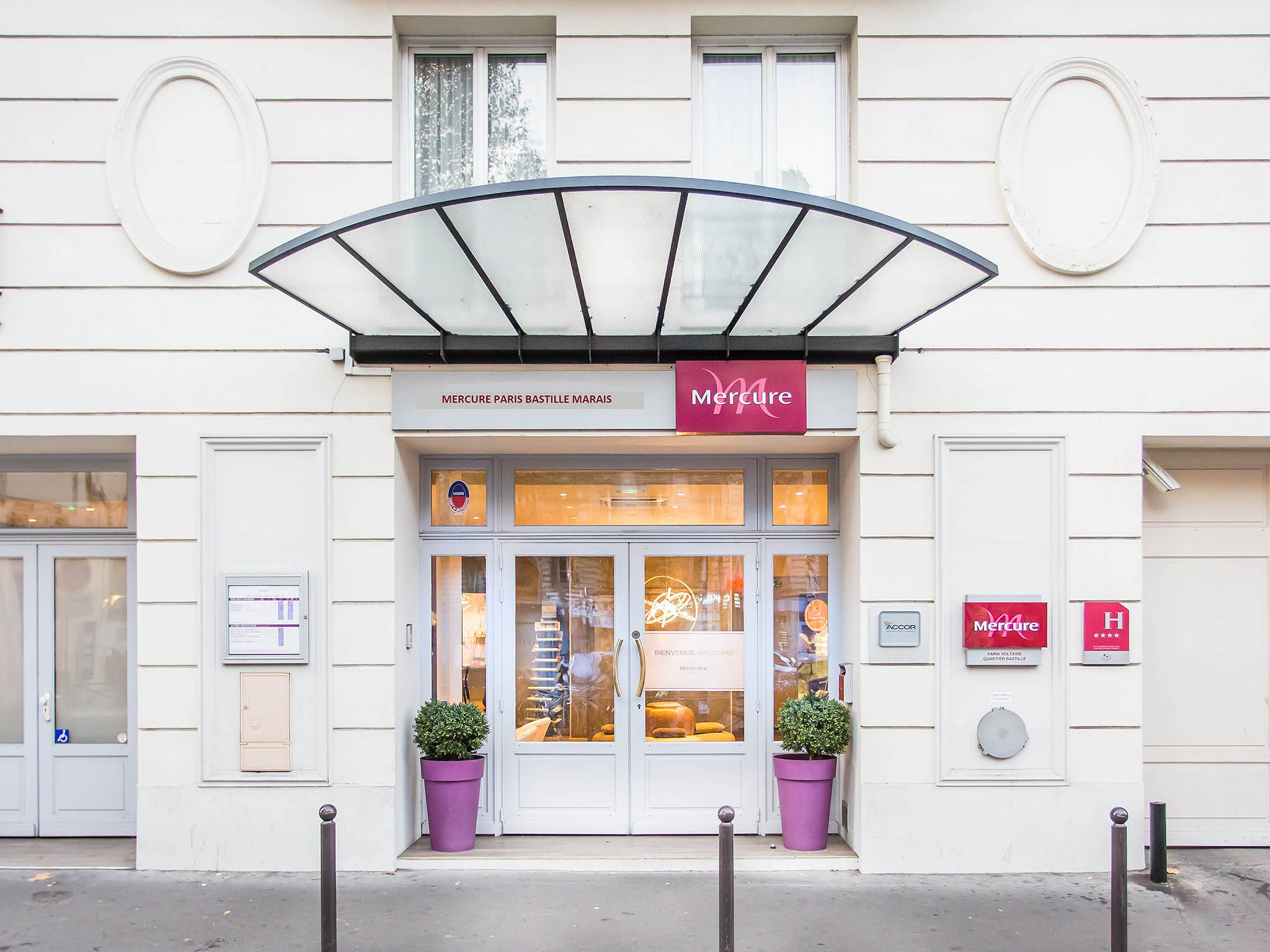 Hotel Mercure Paris Bastille Marais