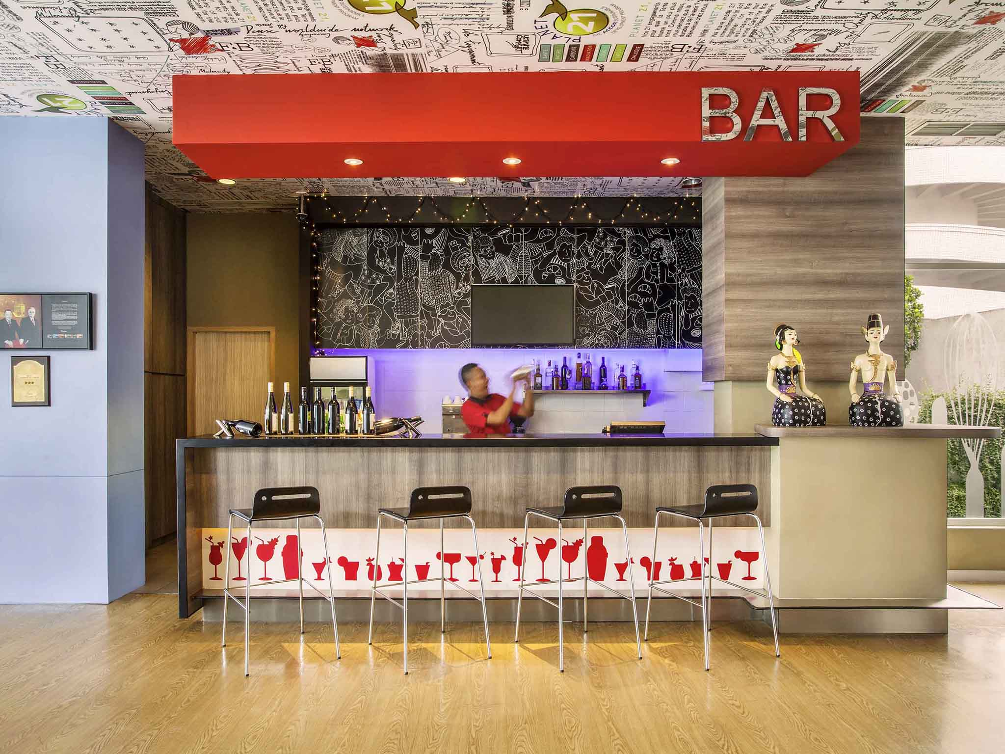 Hotel In Surabaya Ibis City Center Cetak Foto Ukuran 24r Salon Restaurant