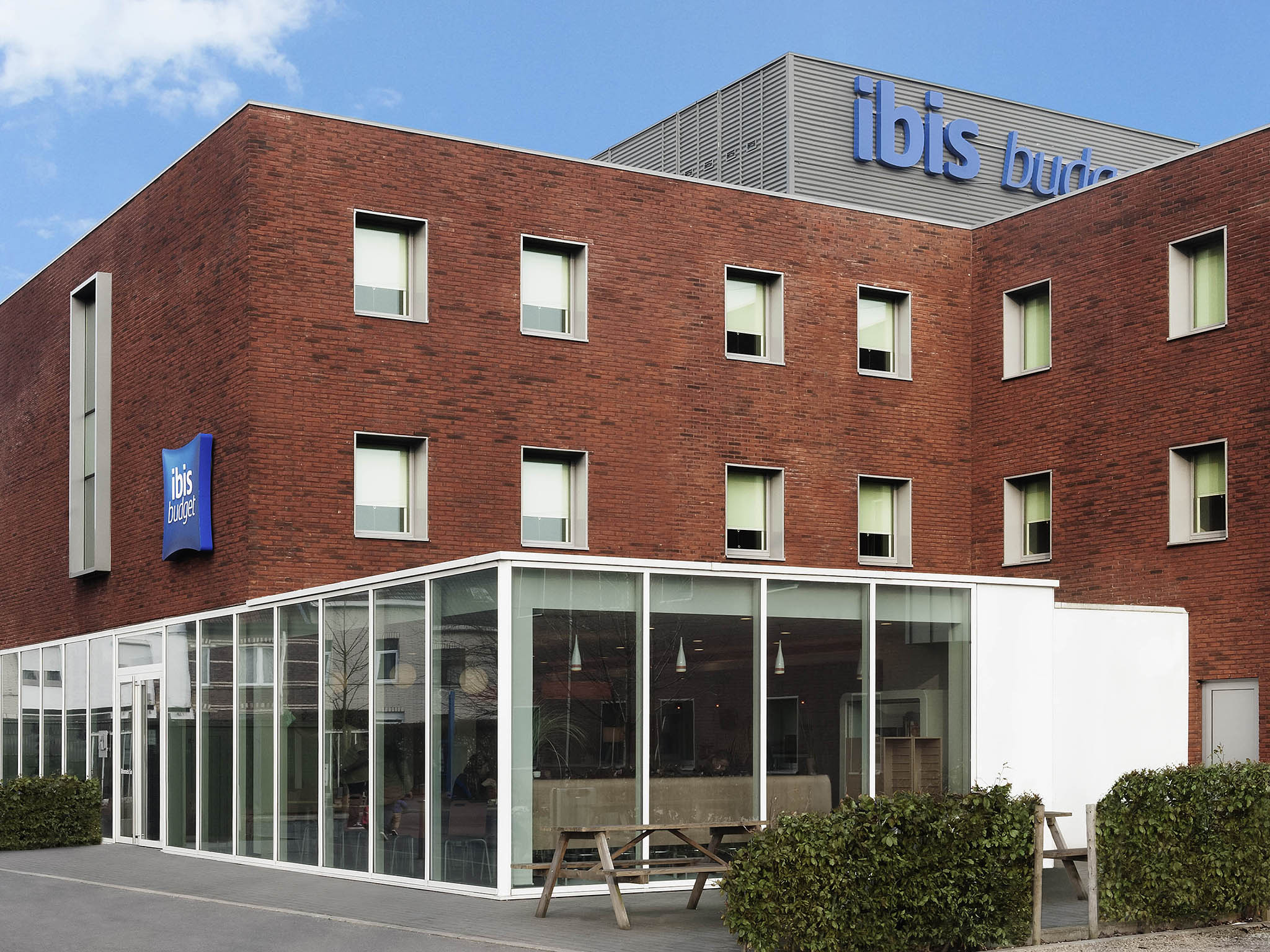 Отель — ibis budget Brussels South Ruisbroek