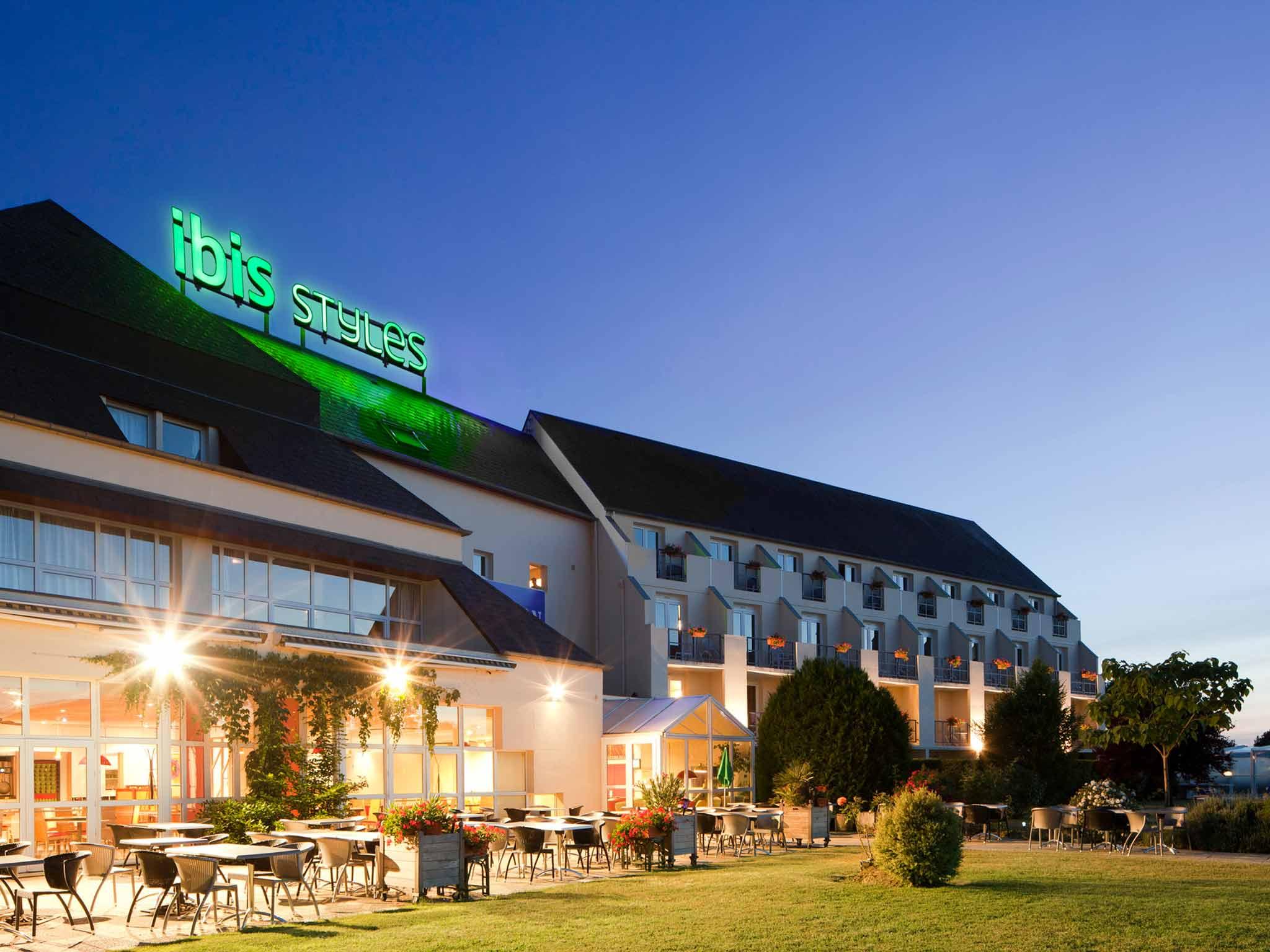 Отель — ibis Styles Chinon