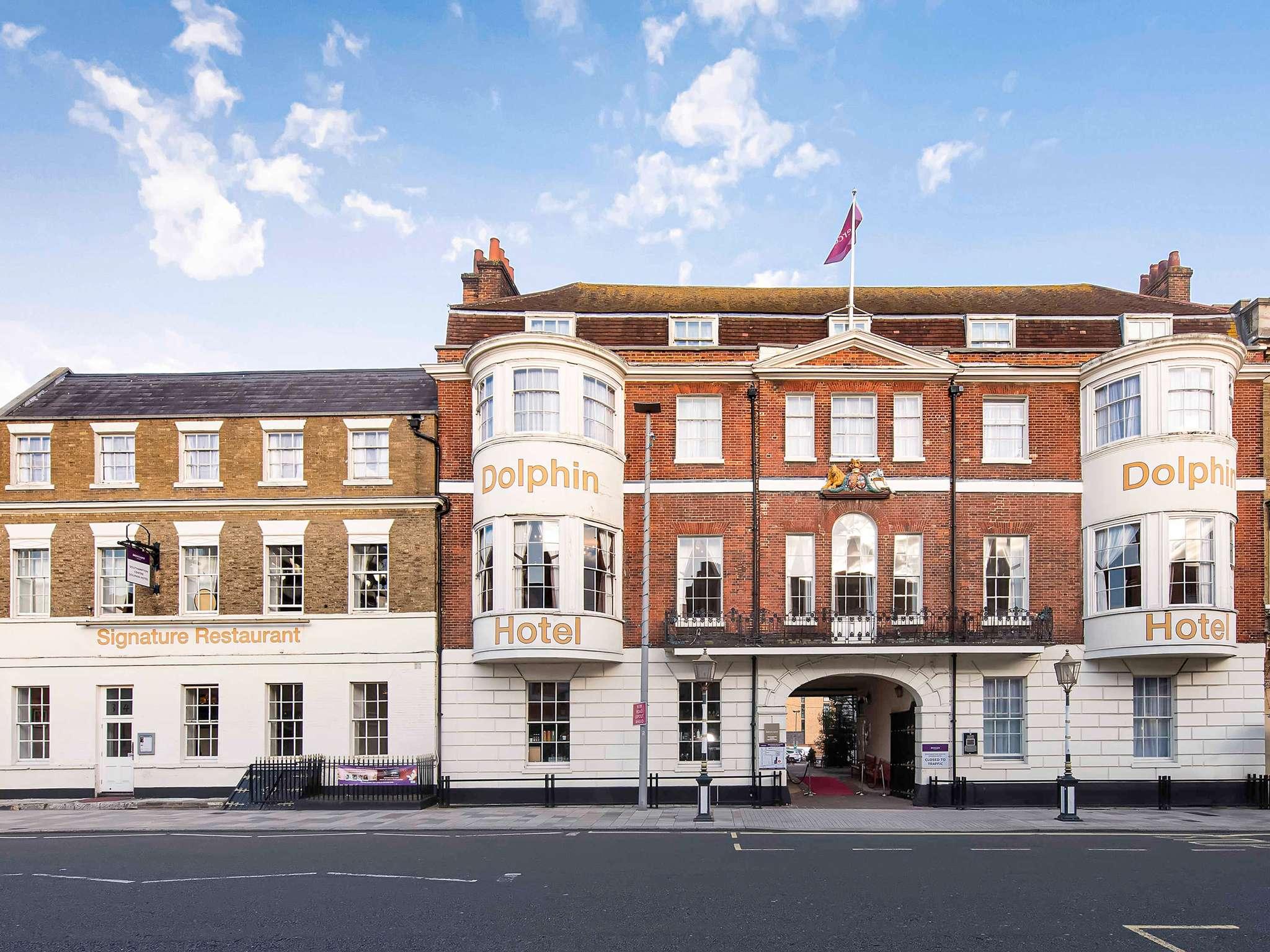 酒店 – 南安普敦中心多尔芬美居酒店