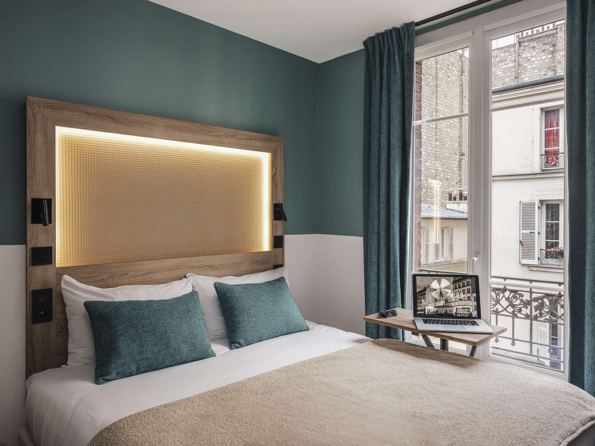 酒店 – 宜必思尚品巴黎蒙马特尔北部酒店