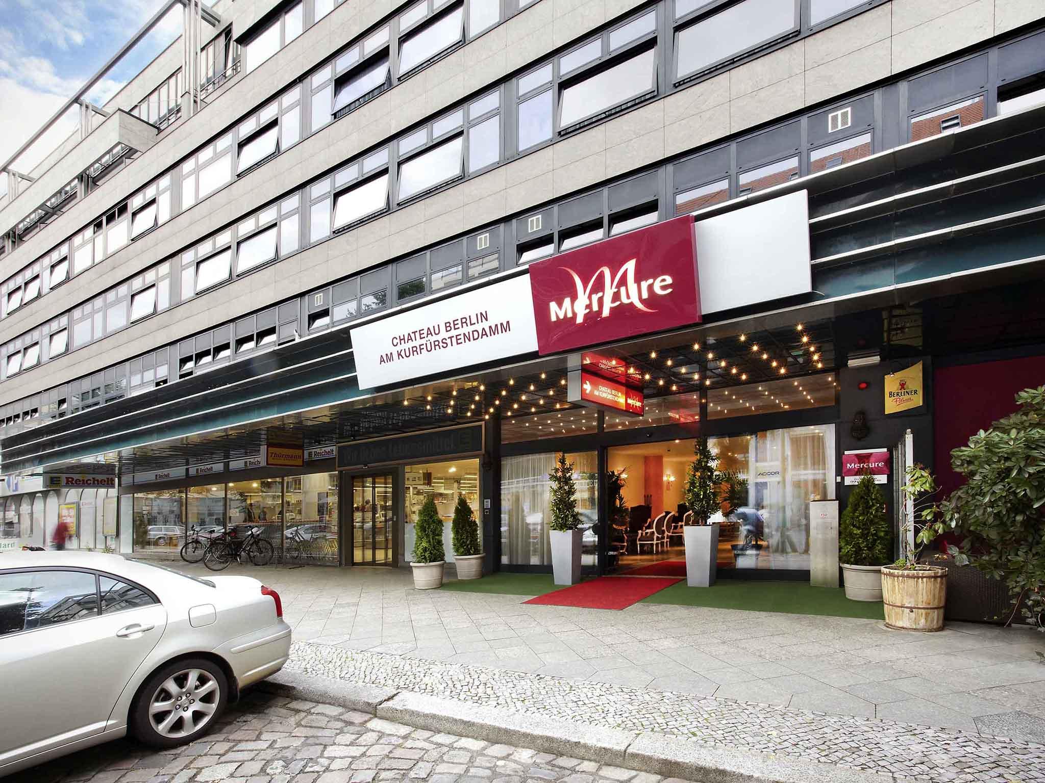Hotel – Mercure Hotel Chateau Berlin am Kurfuerstendamm/otwarty 1.12.10
