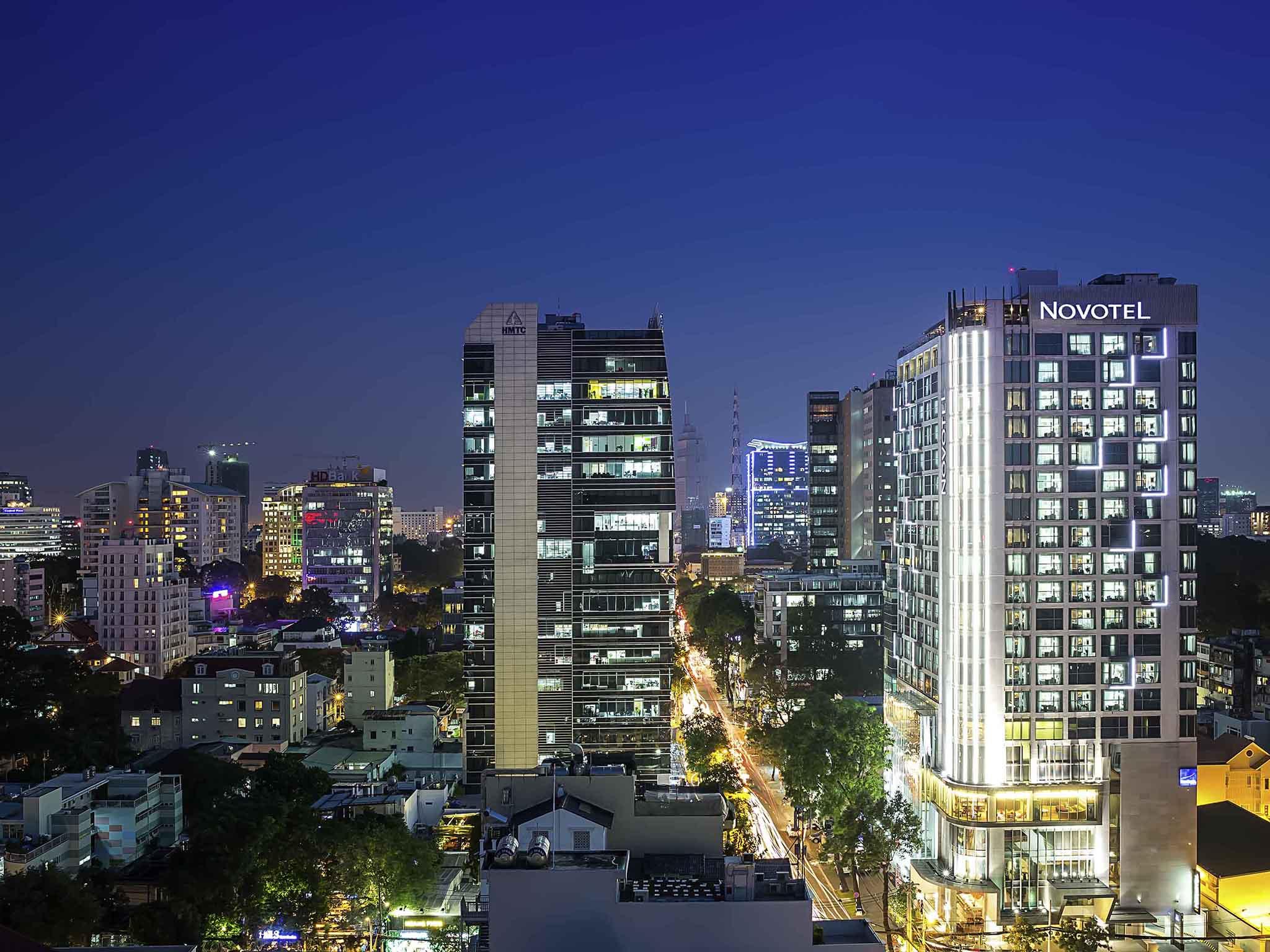 Hotell – Novotel Saigon Centre