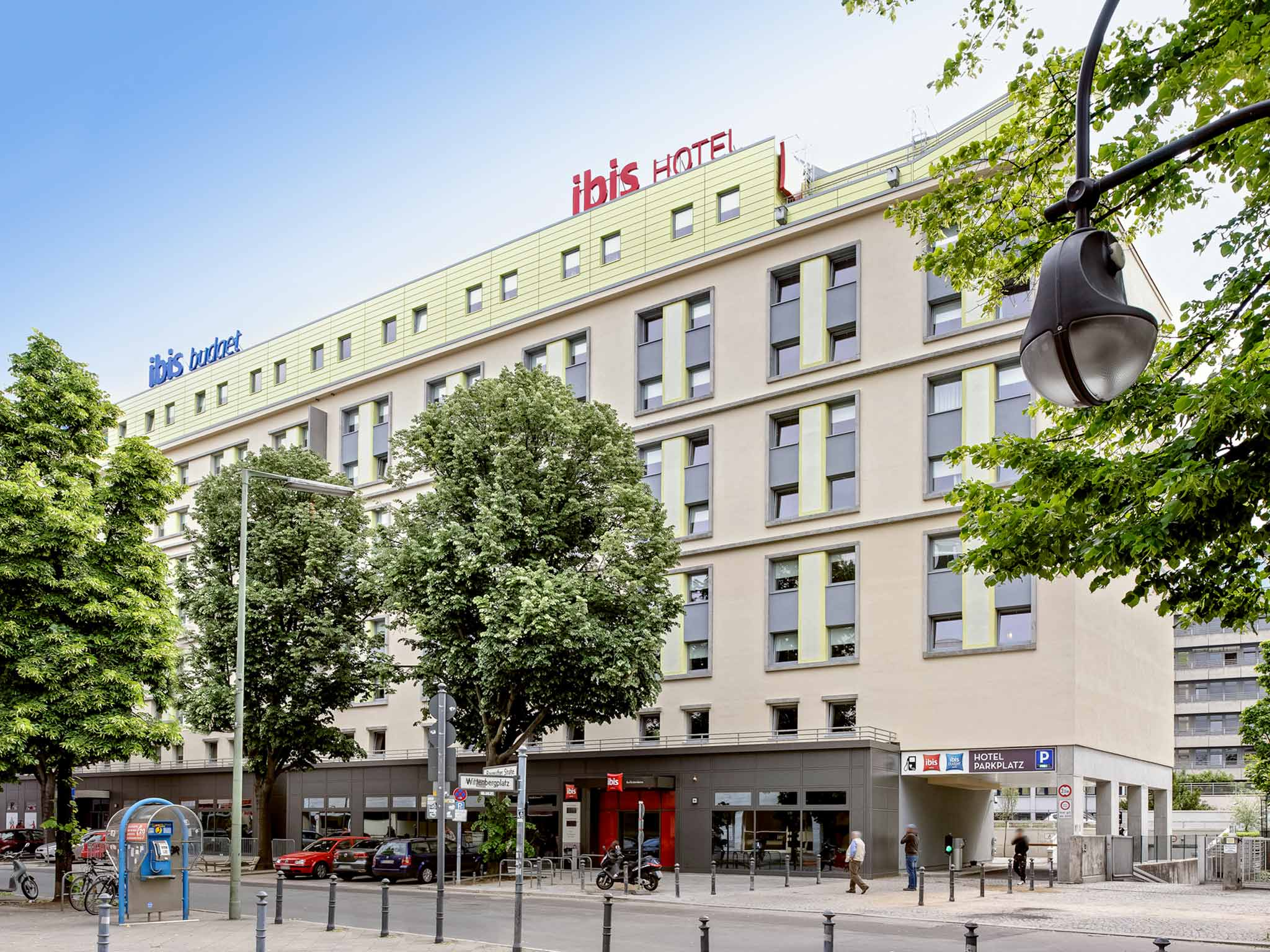 Отель — ibis budget Берлин Курфюрстендамм
