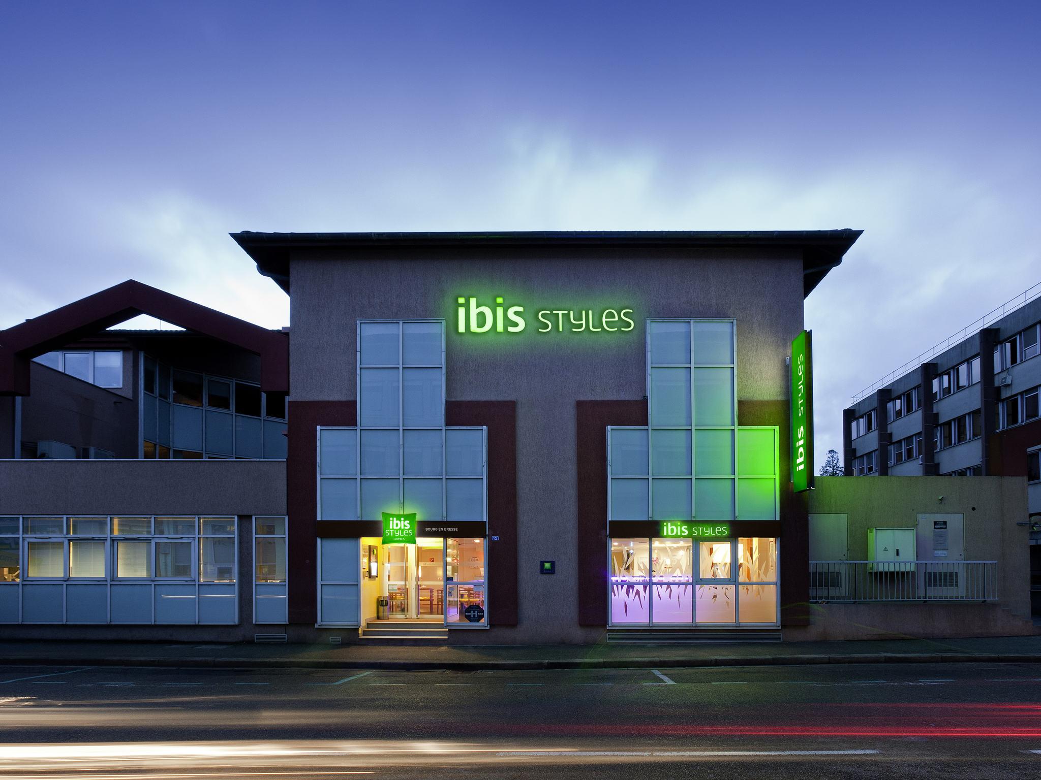 Otel – ibis Styles Bourg-en-Bresse