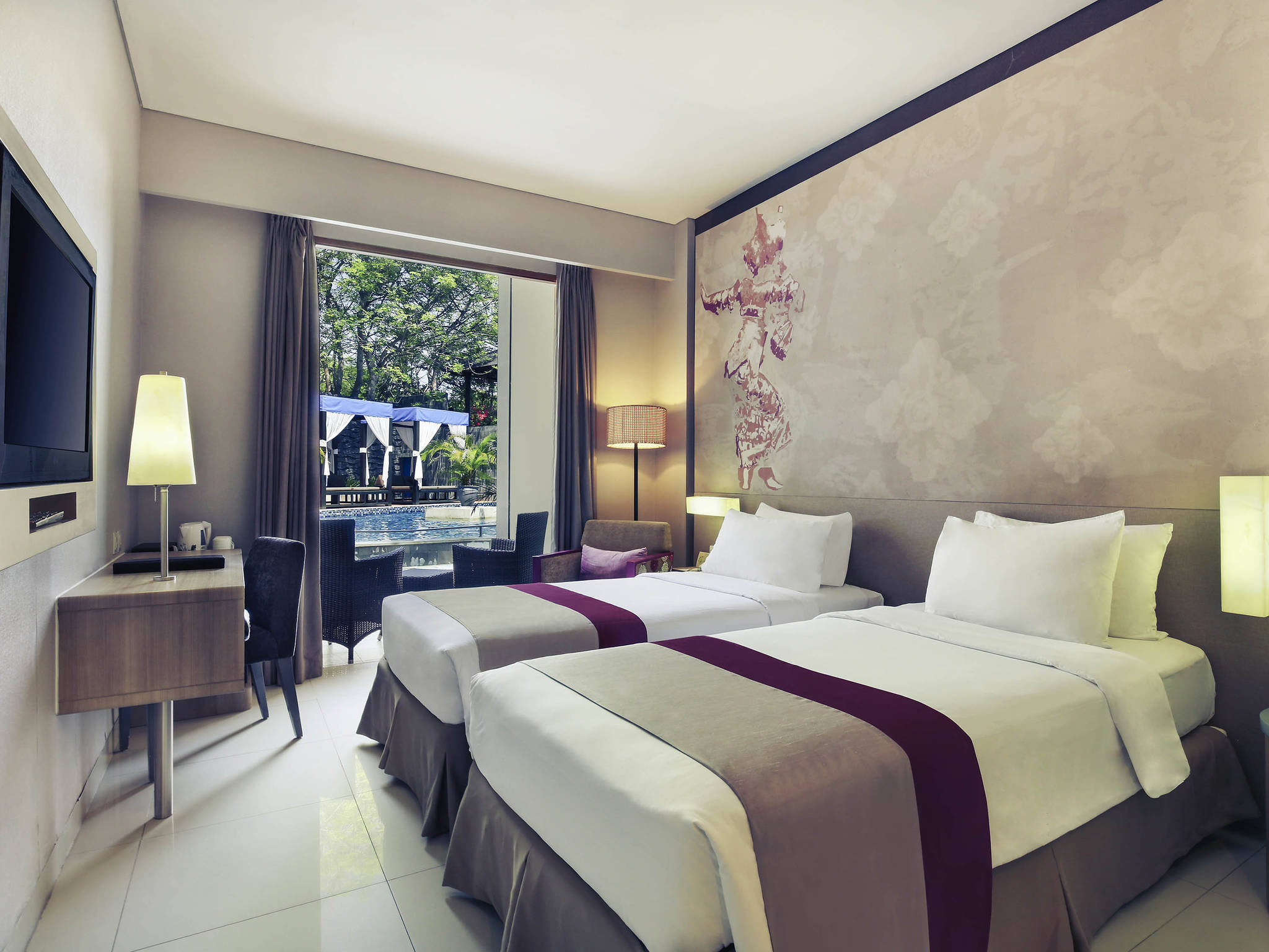 Mercure Bali Nusa Dua Business Leisure Accorhotels Voucher Hotel Ayodya Resort Deluxe Bed An Breakfast Rooms