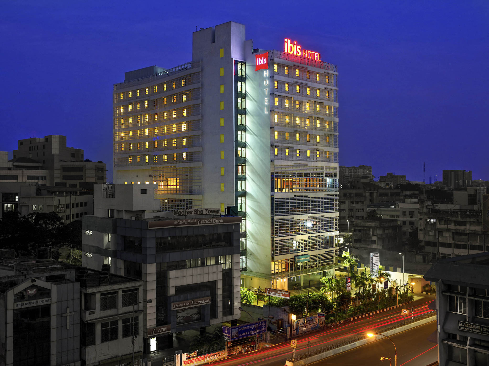 Отель — ibis Chennai City Centre