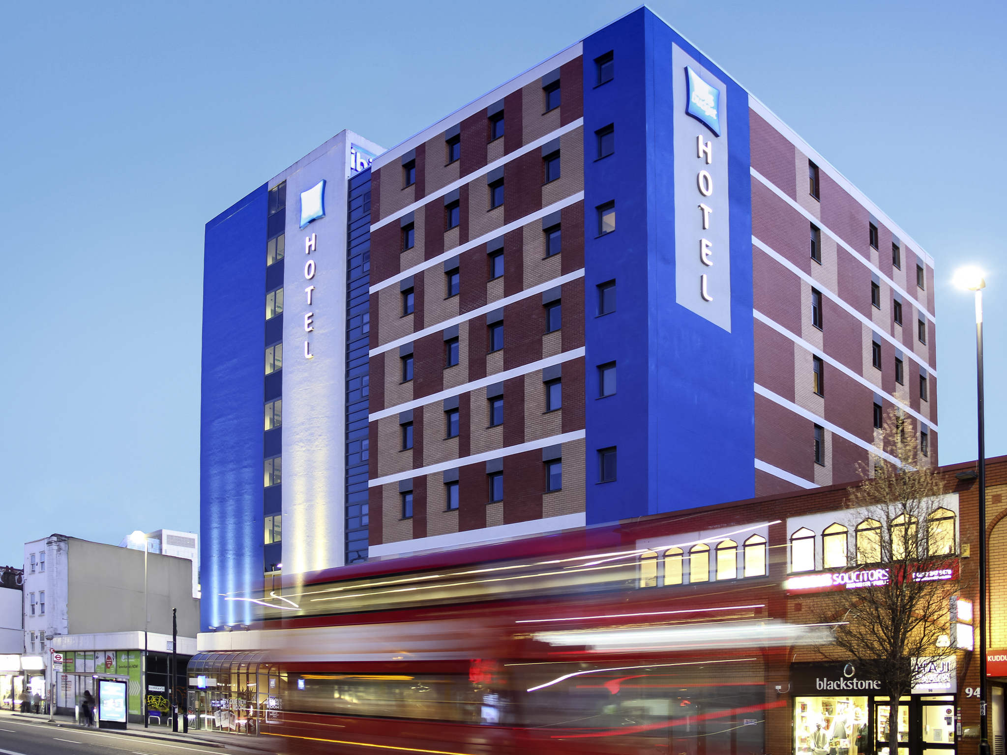 Hotel – ibis budget London Whitechapel Brick Lane
