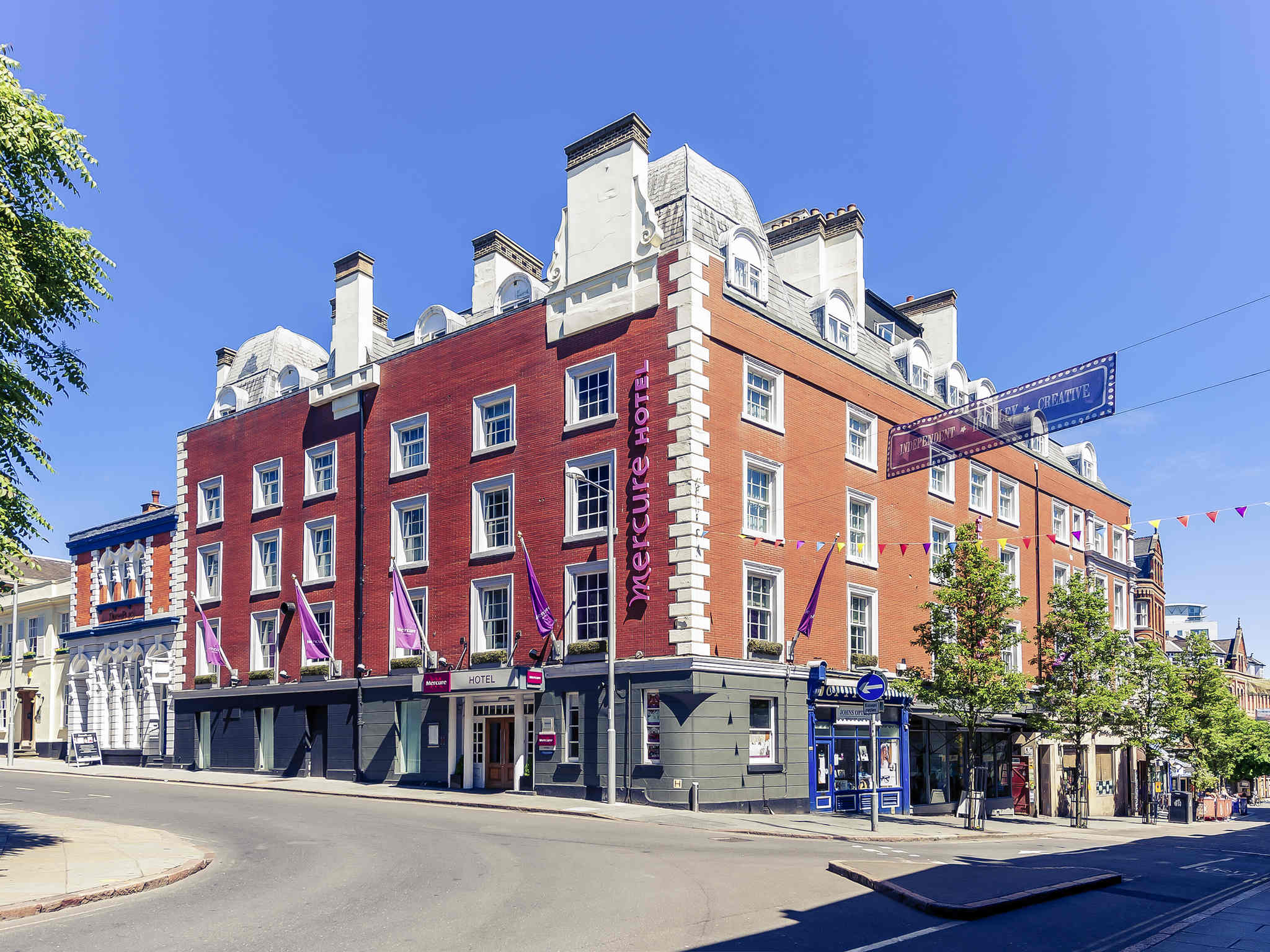 Hotel – Mercure Nottingham City Centre George Hotel