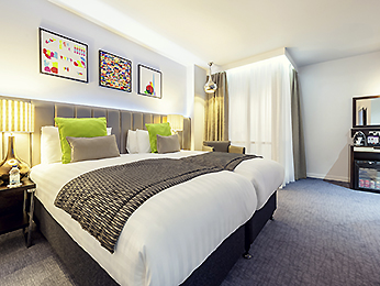Zimmer - Mercure London Paddington