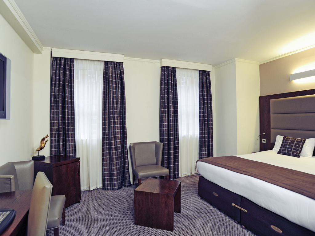 H tel londres mercure londres paddington for Chambre avec lit king size