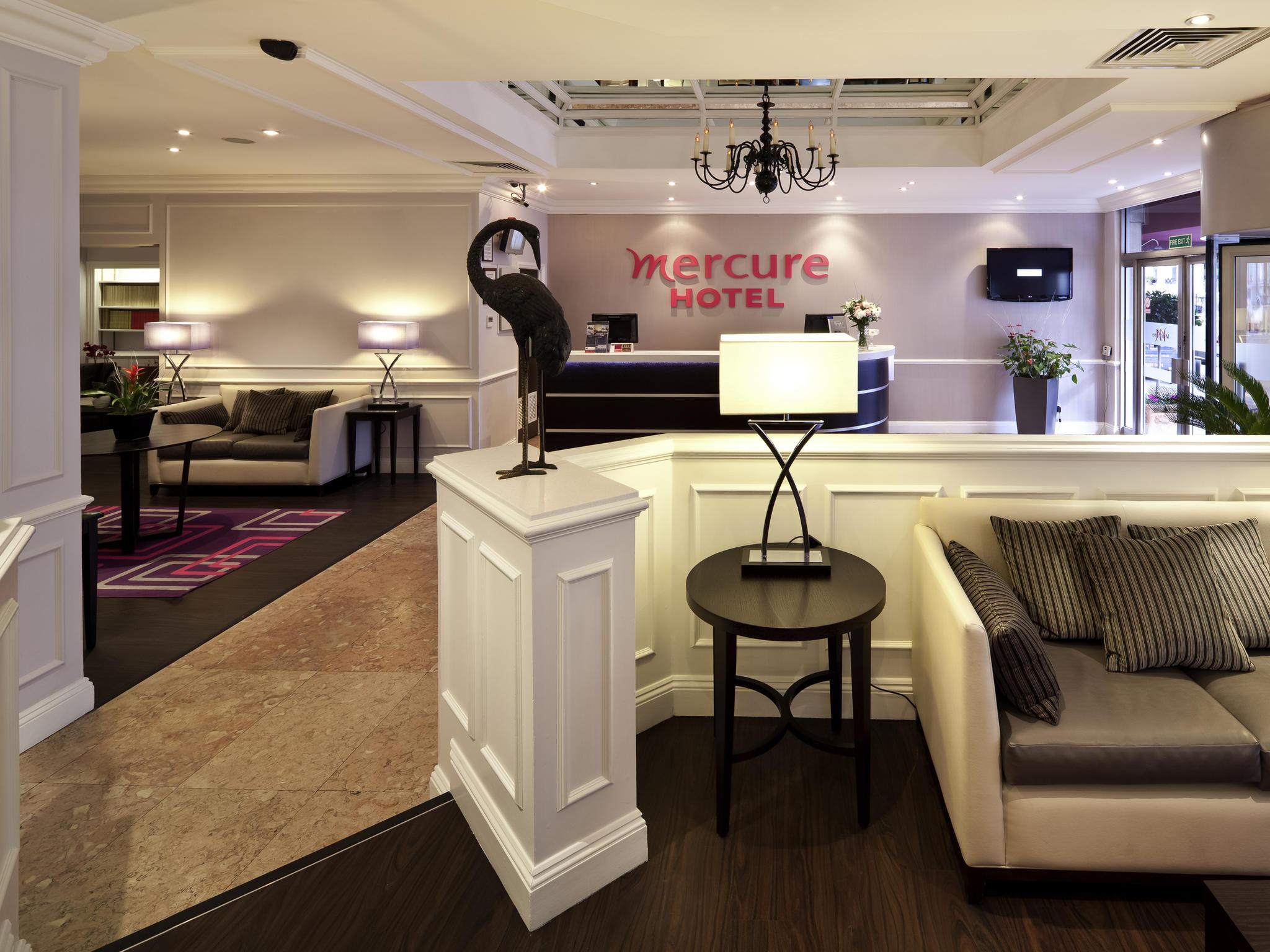 Отель — Mercure Лондон Кенсингтон