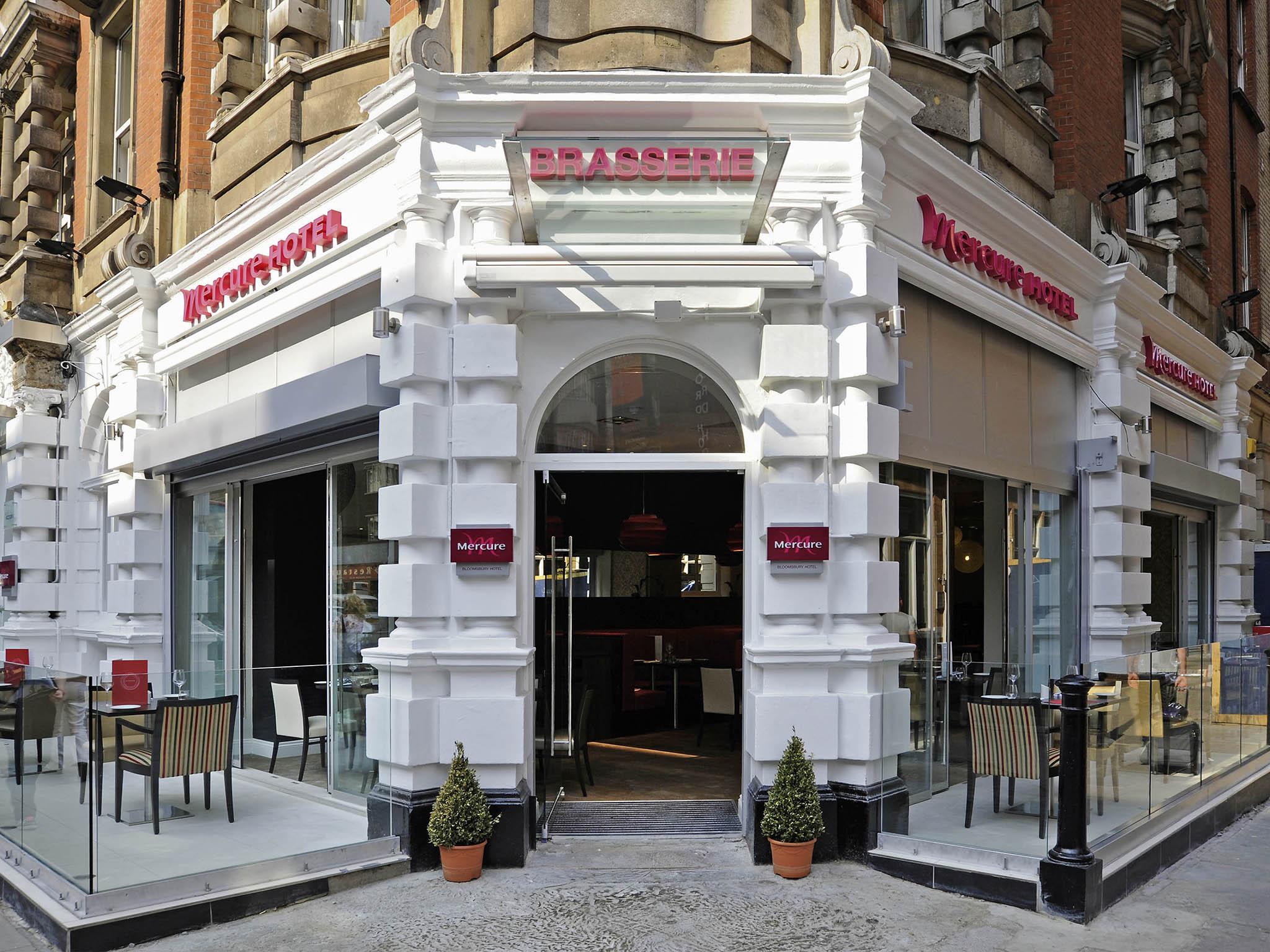 Отель — Mercure Лондон Блумсбери