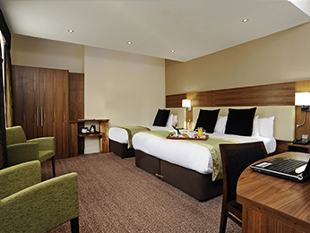 Pokoje - Mercure London Bloomsbury
