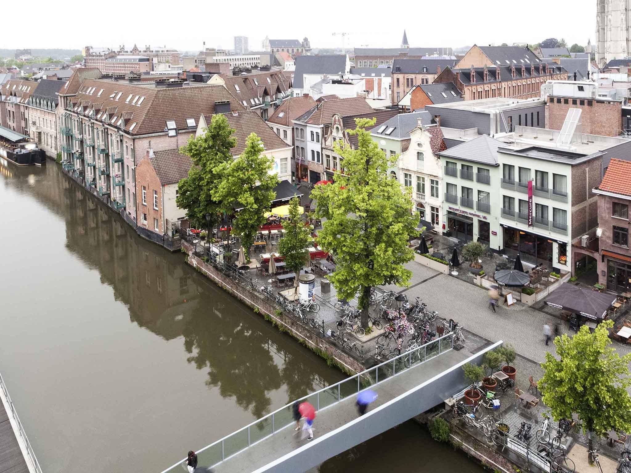 Hotell – Hotel Mercure Mechelen Vé