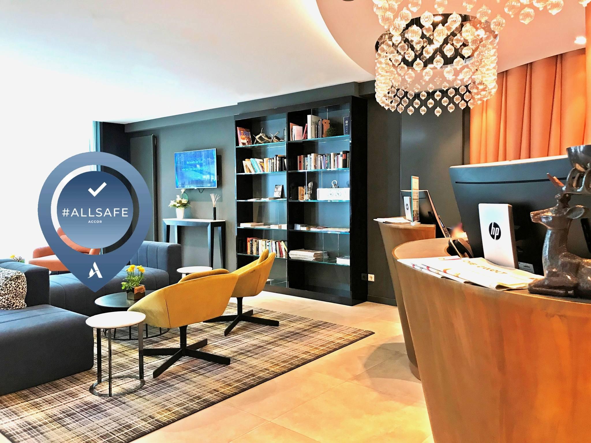 Otel – Mercure Hotel Kaiserhof Frankfurt City Center