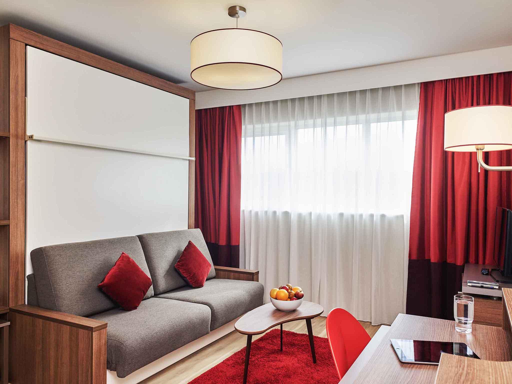 Отель — Апартотель Adagio Бирмингем Сити Центр