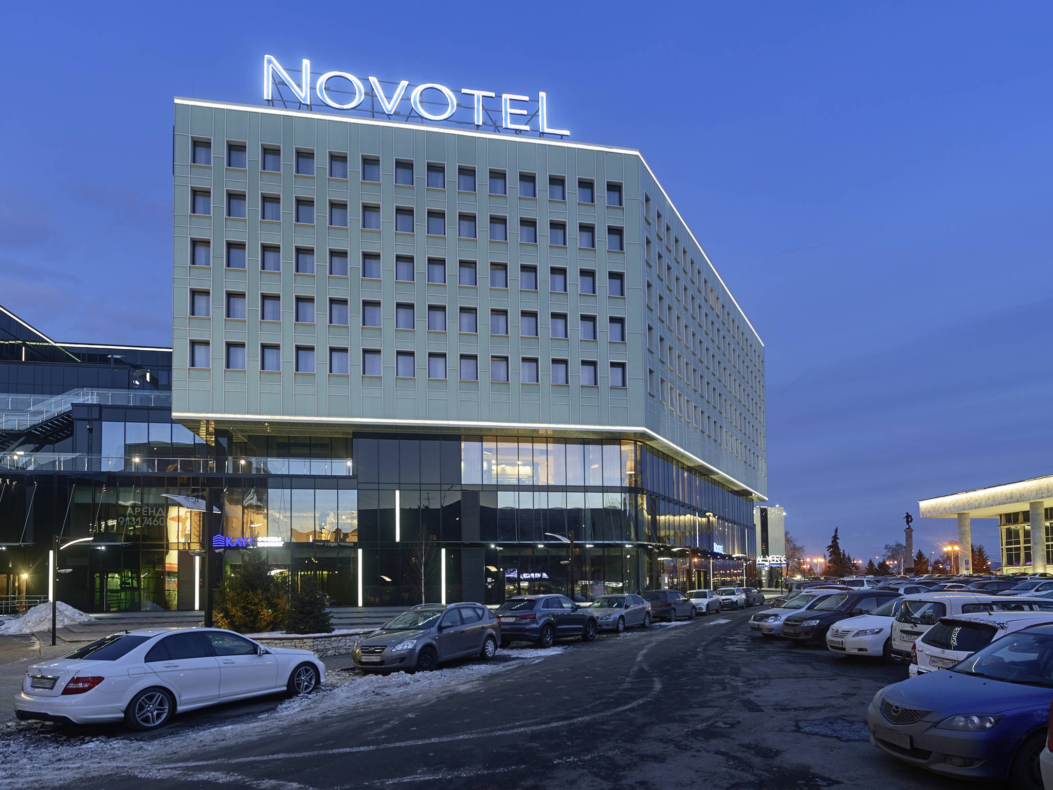 โรงแรม – Novotel Krasnoyarsk Center