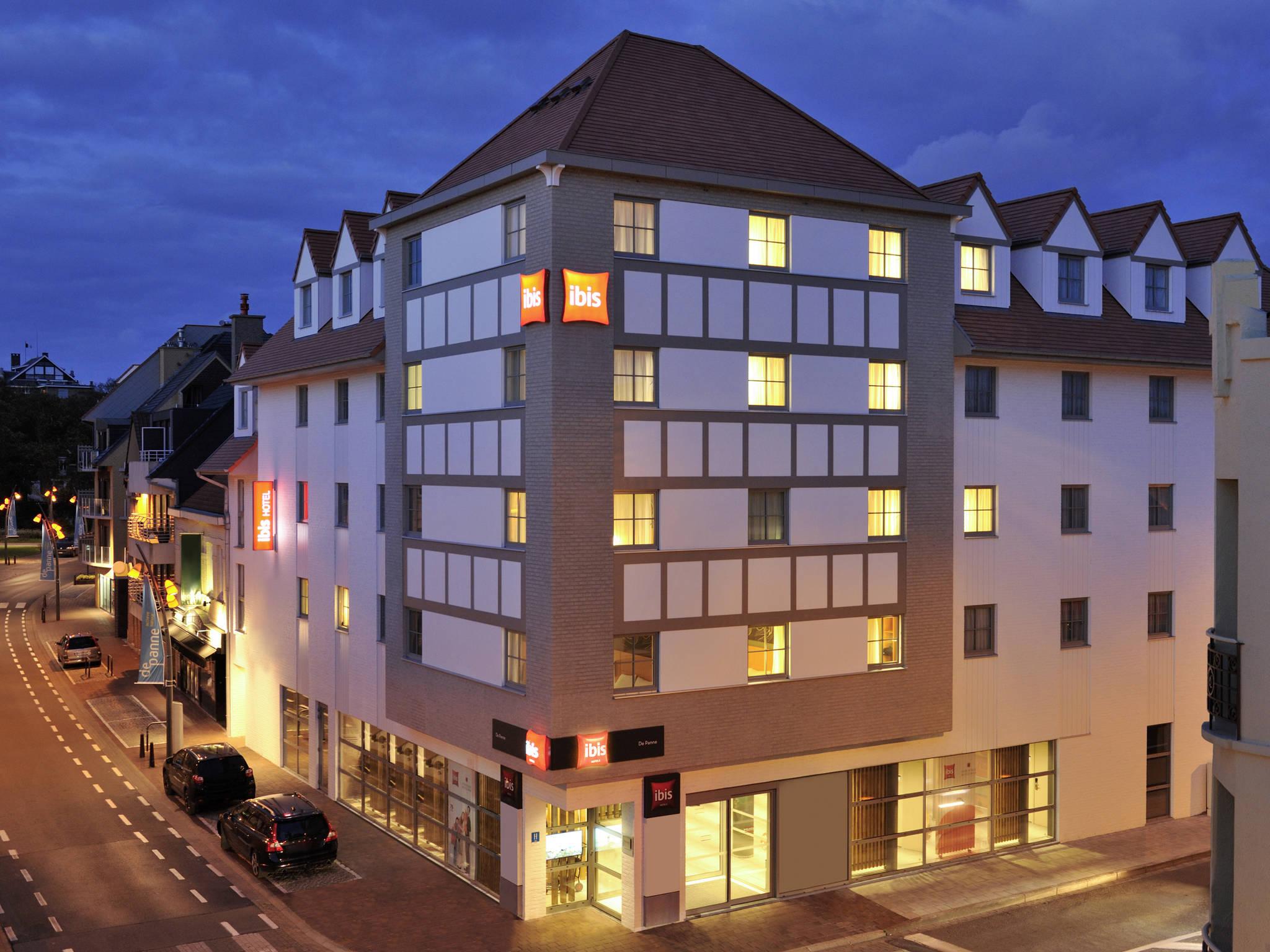 โรงแรม – ibis De Panne