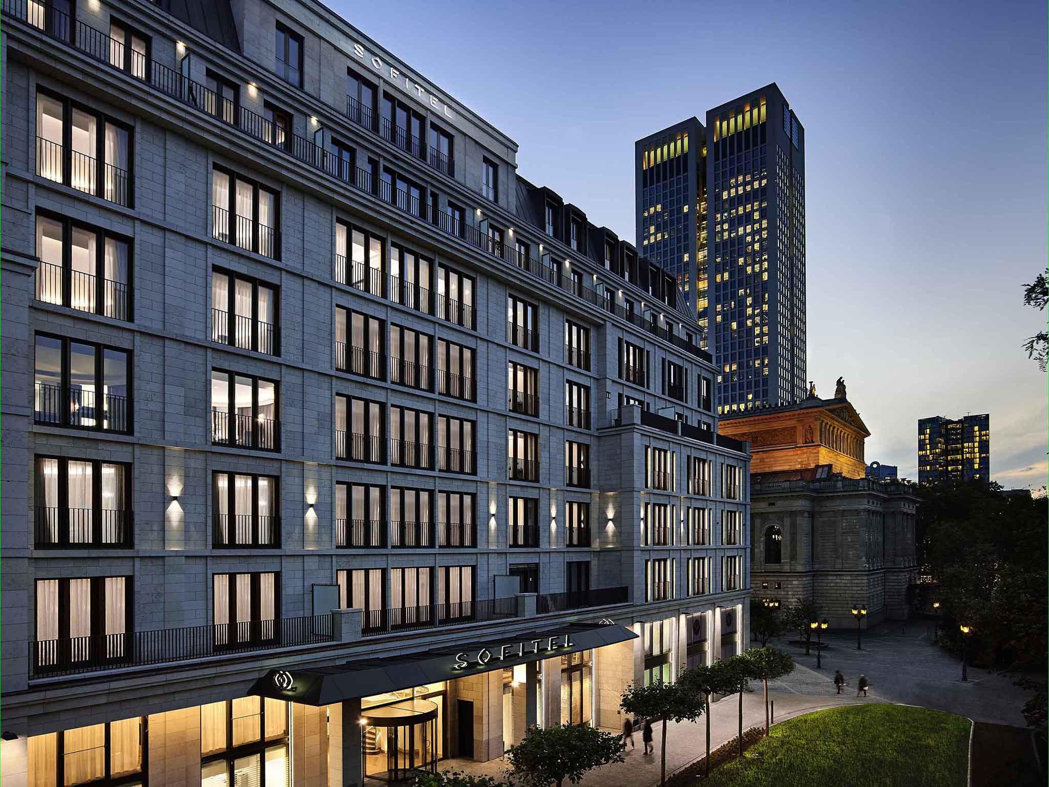 Hotell – Sofitel Frankfurt Opera