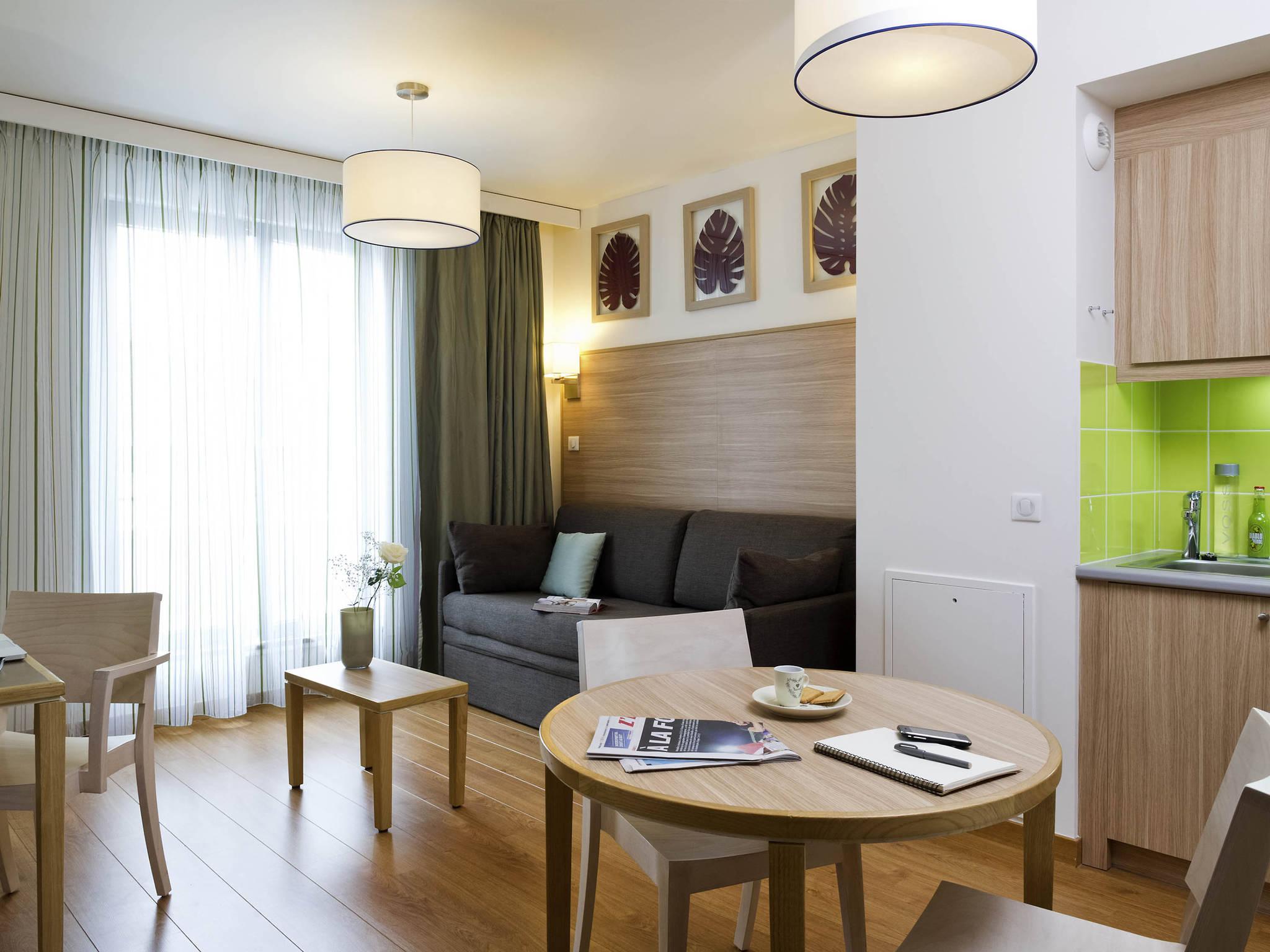 Отель — Aparthotel Adagio Paris Vincennes