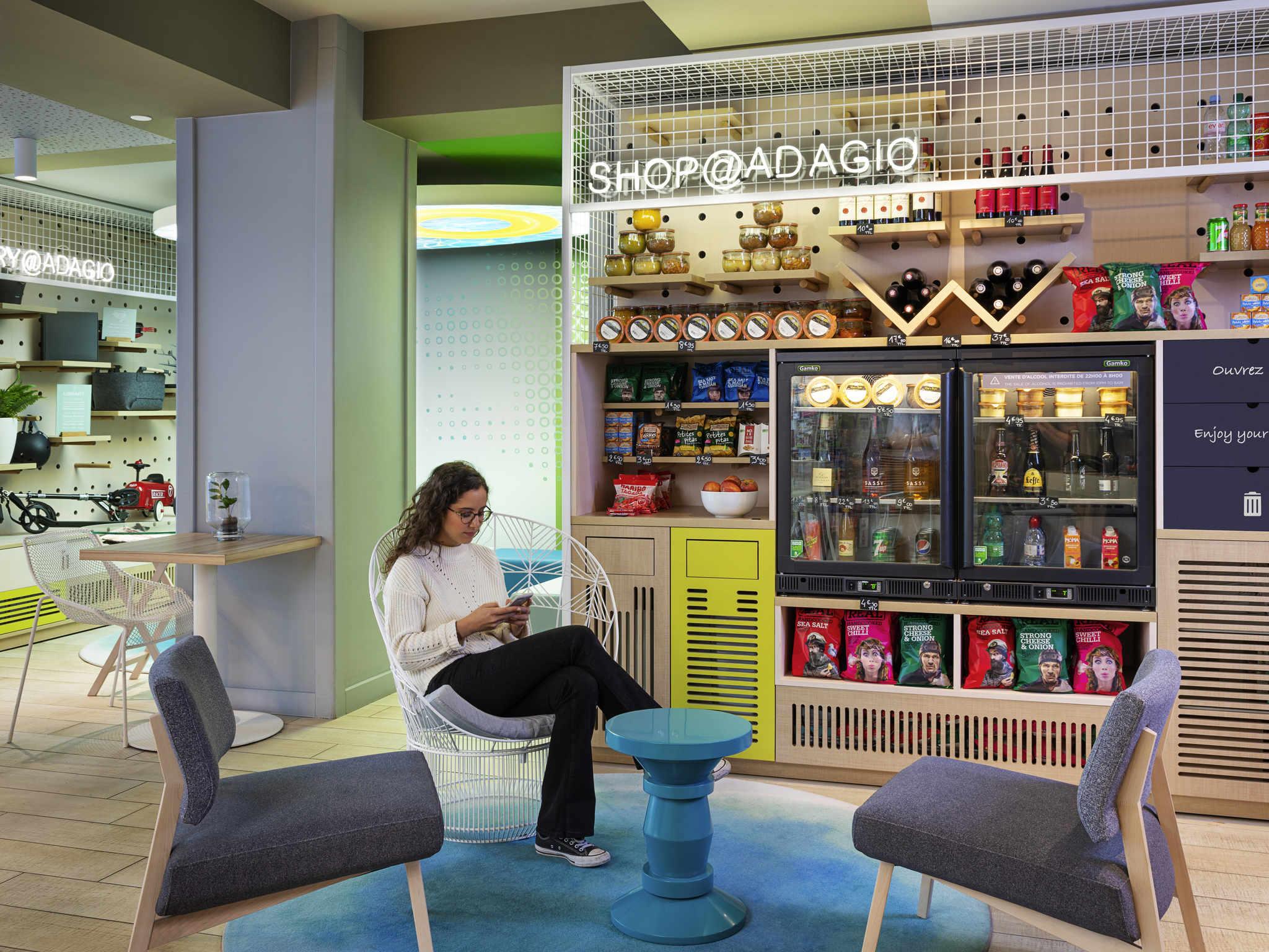 ホテル – Aparthotel Adagio Caen Centre