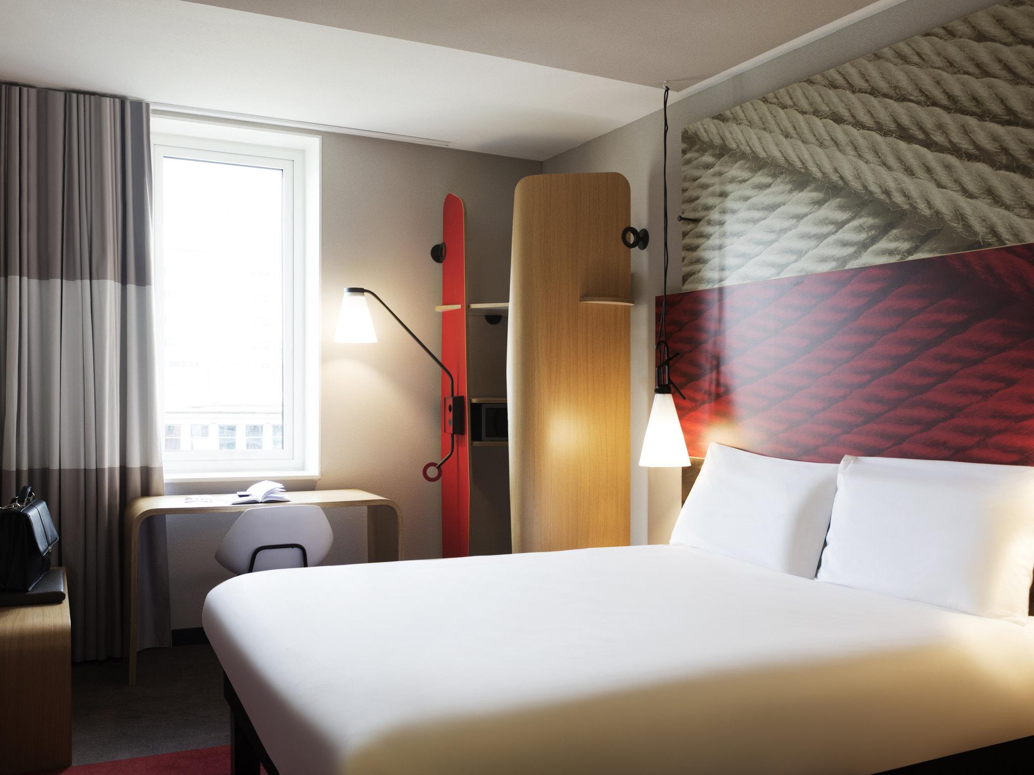 Отель — ibis Роттердам Сити Центр