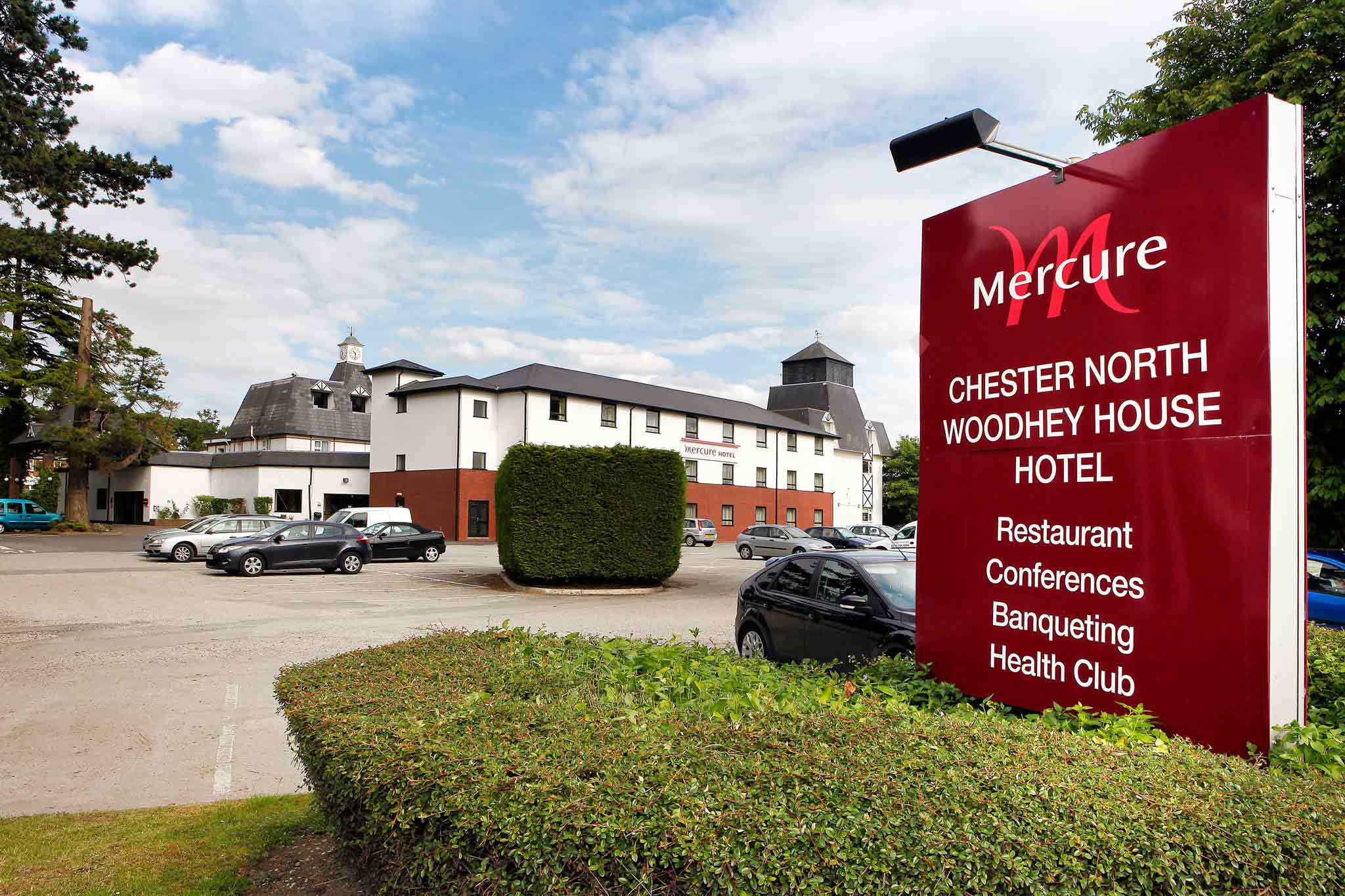 Hotell – Mercure Chester North Woodhey House Hotel