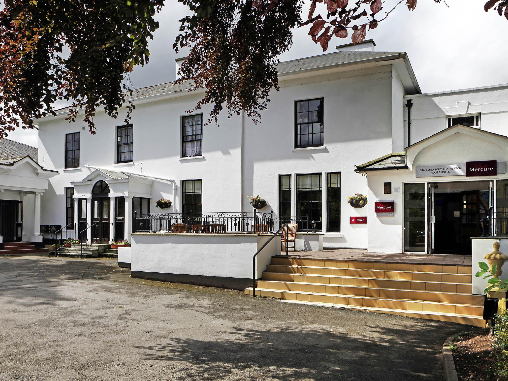 Hotel – Mercure Stafford South Hatherton House Hotel