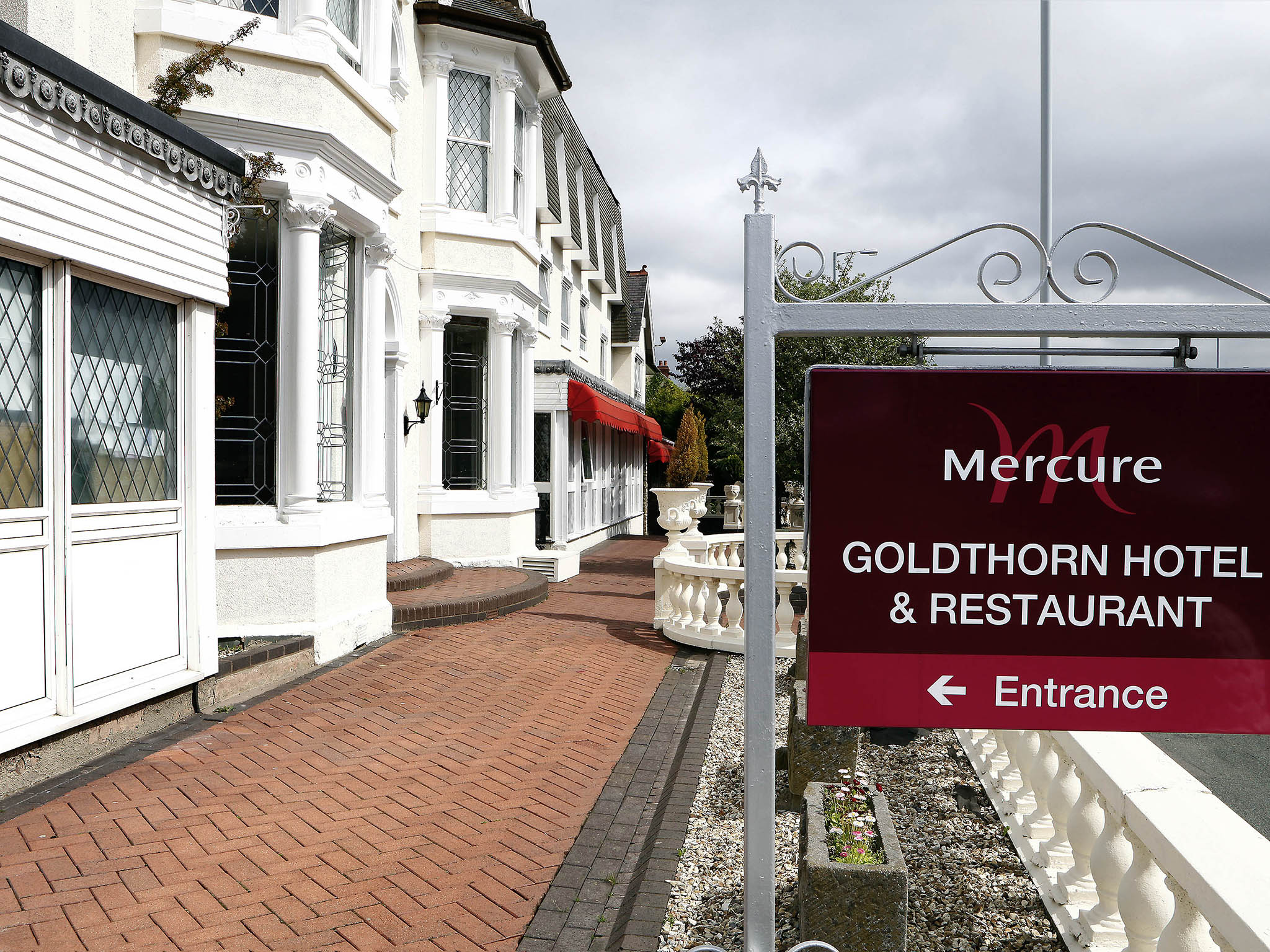Hotell – Mercure Wolverhampton Goldthorn Hotel