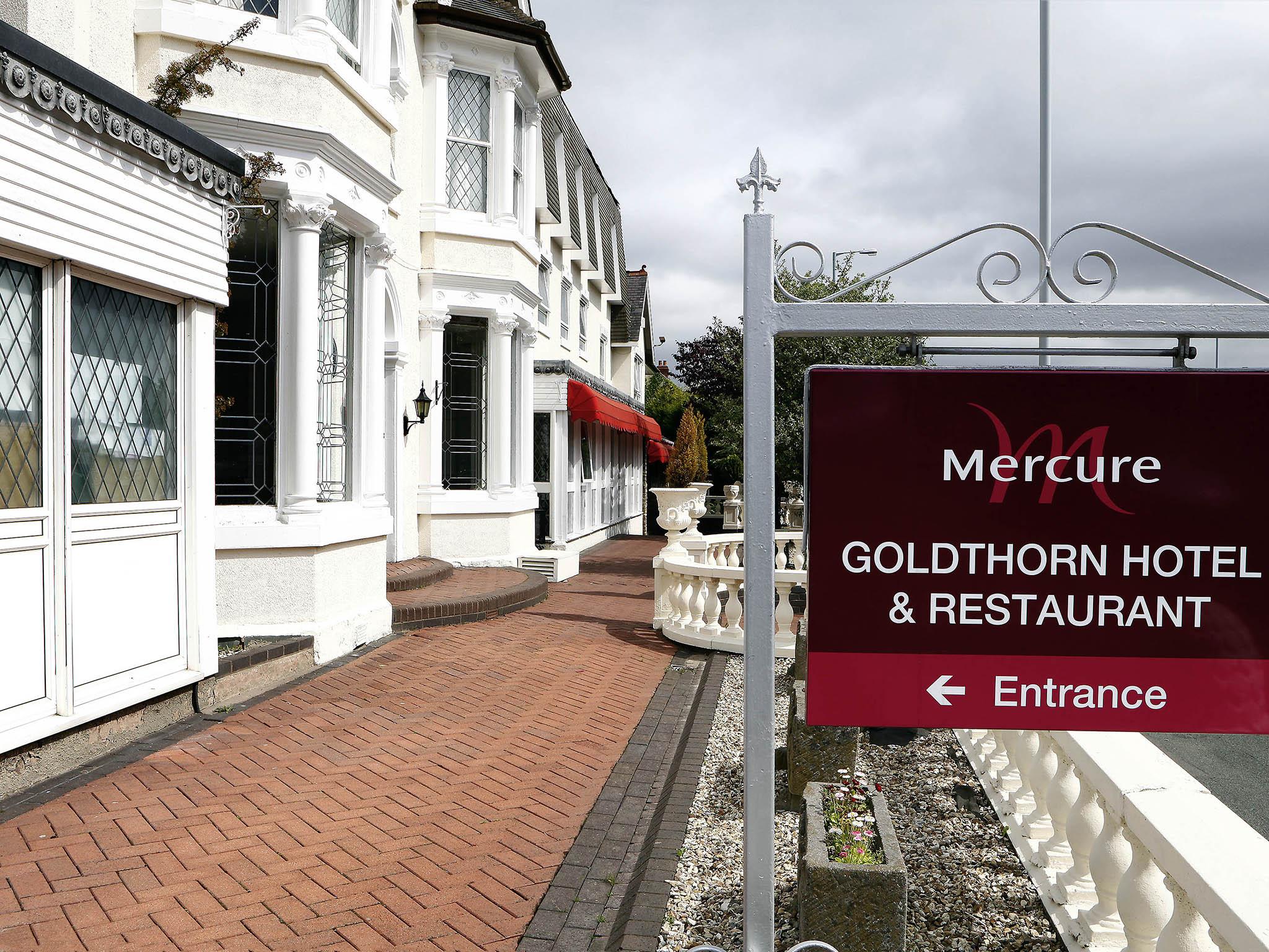 Hotel – Mercure Wolverhampton Goldthorn Hotel