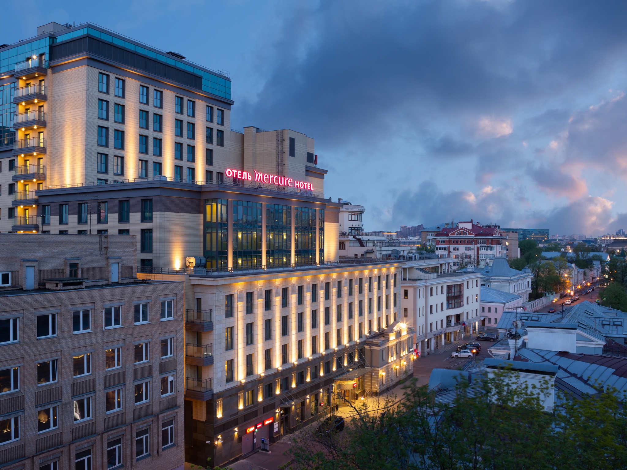 酒店 – 莫斯科帕维列茨美居酒店