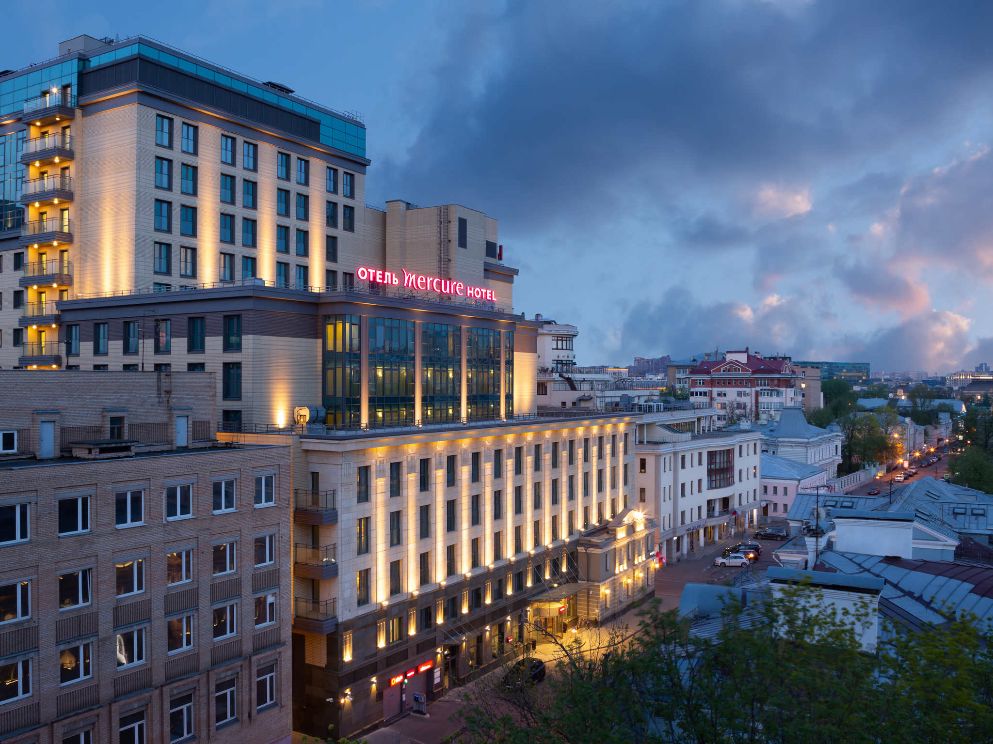 Hotel – Mercure Moscú Paveletskaya