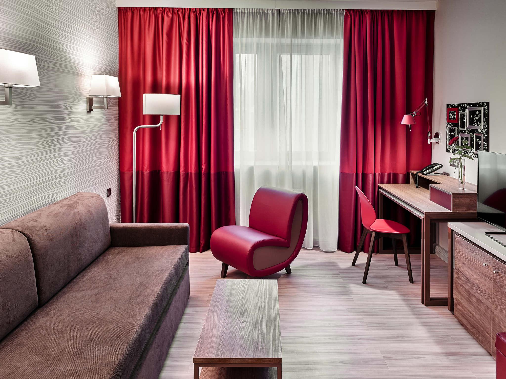 Hotel – Hotel de apartamentos Adagio Moscow Kievskaya