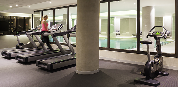 Golf fitness amenities pullman paris roissy cdg airport - Best cardio equipment for small spaces property ...