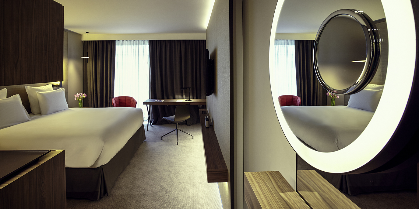 Chambres suites pullman paris roissy cdg airport for Roissy chambres