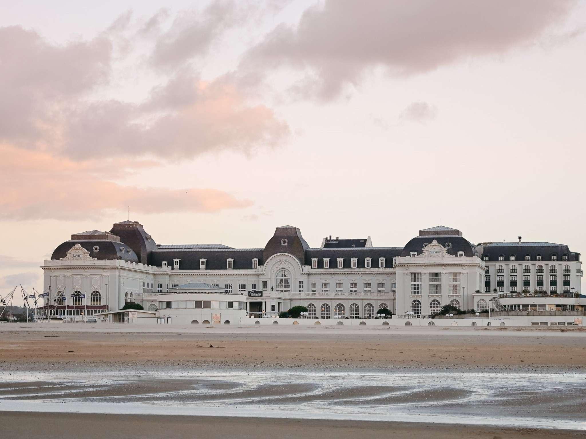 Отель — Cures Marines Trouville Hôtel Thalasso & Spa-MGallery by Sofitel