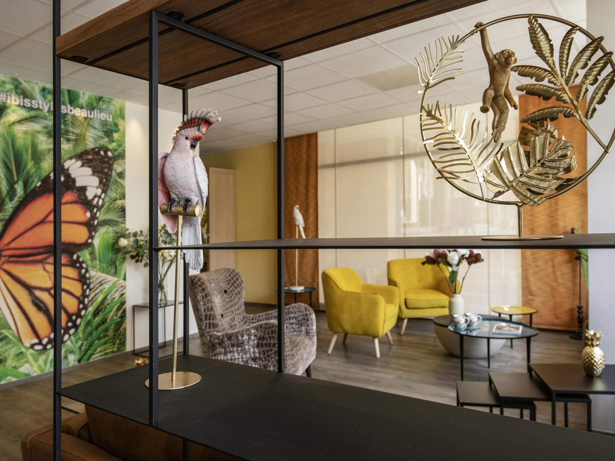 Hotel – ibis Styles Beaulieu Sur Mer
