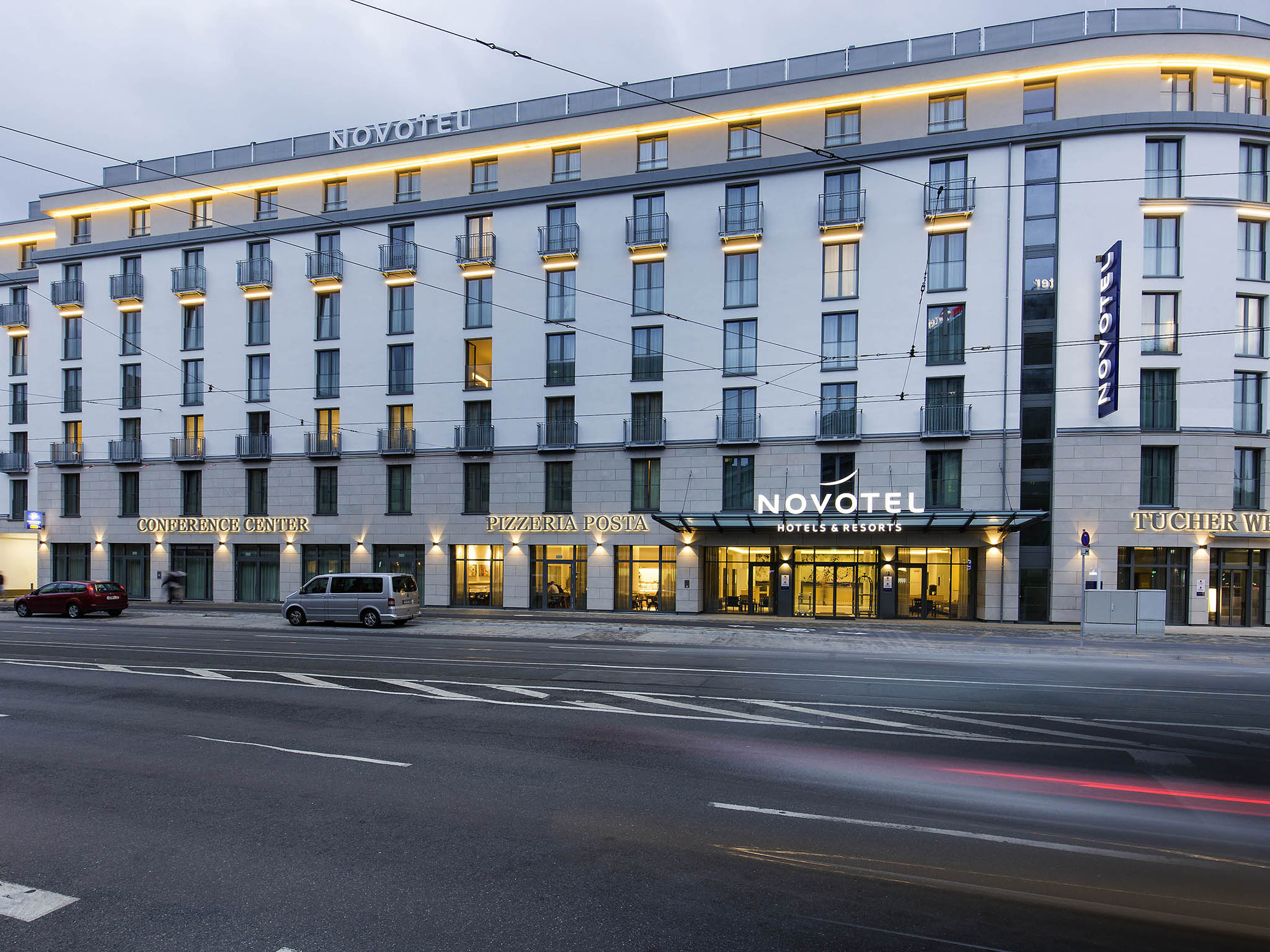 Otel – Novotel Nuernberg Centre Ville