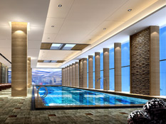 This is Anshan's first and only 5-star business hotel