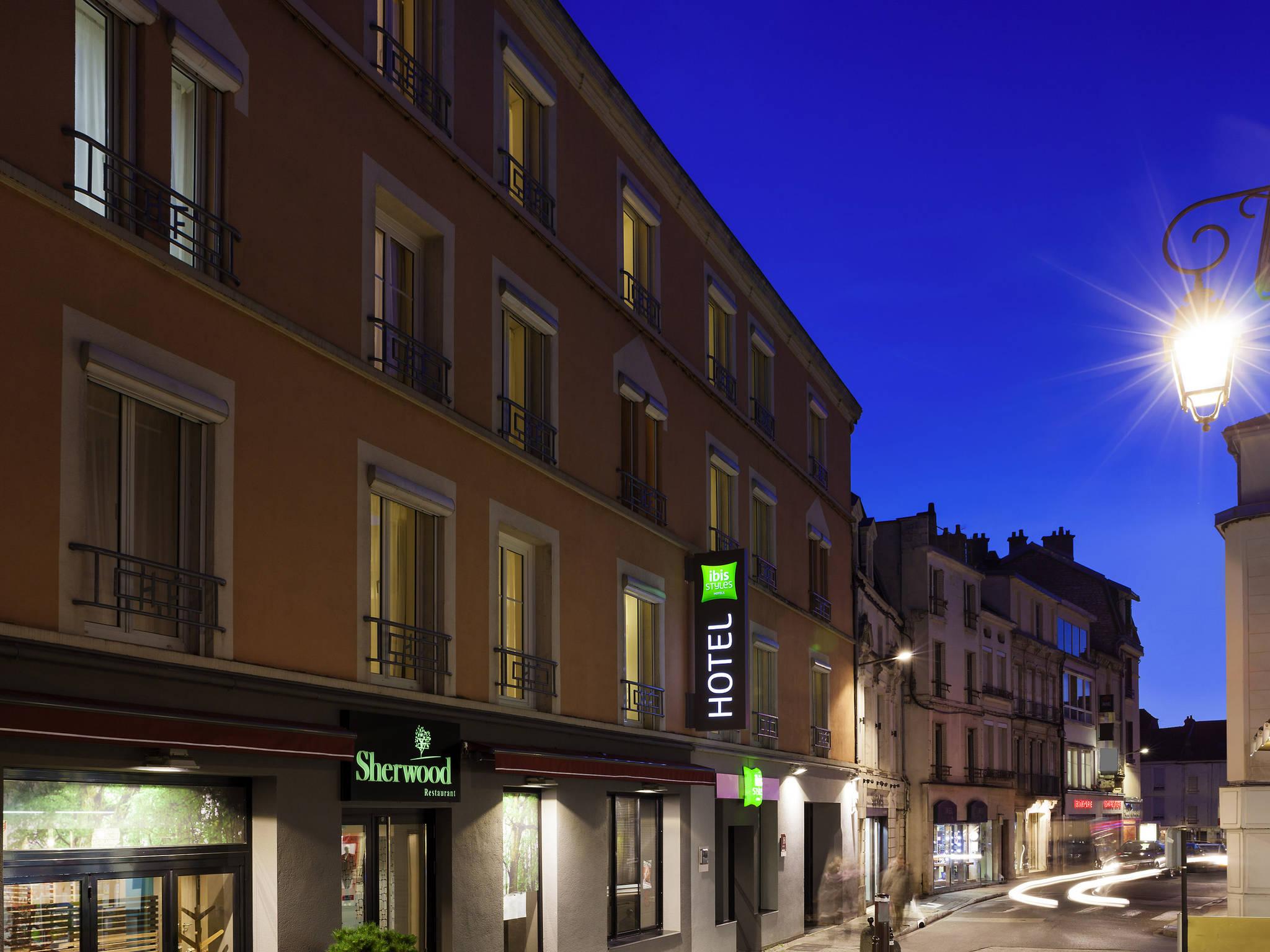 โรงแรม – ibis Styles Chaumont Centre Gare