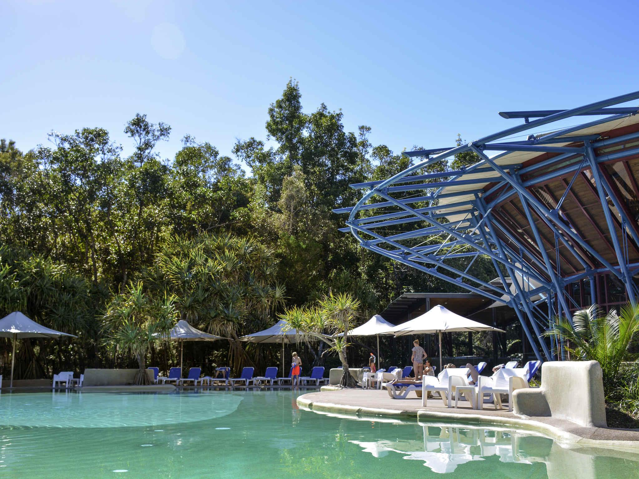 โรงแรม – Mercure Kingfisher Bay Resort Fraser Island