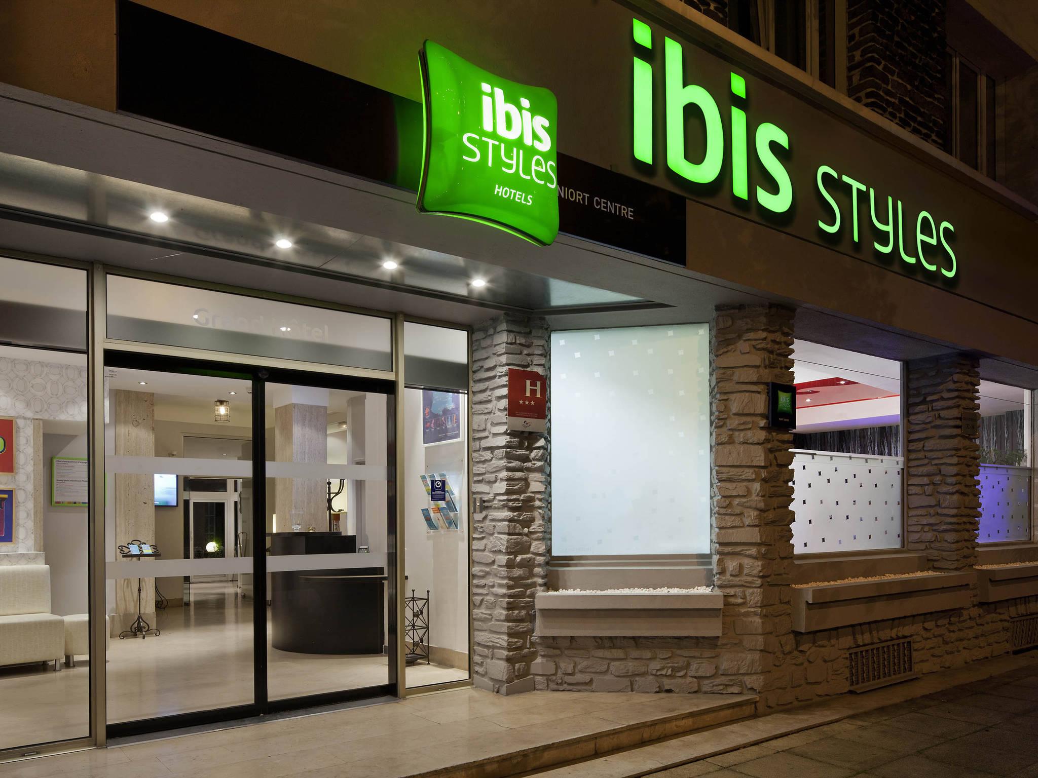 Otel – ibis Styles Niort Centre Grand Hôtel